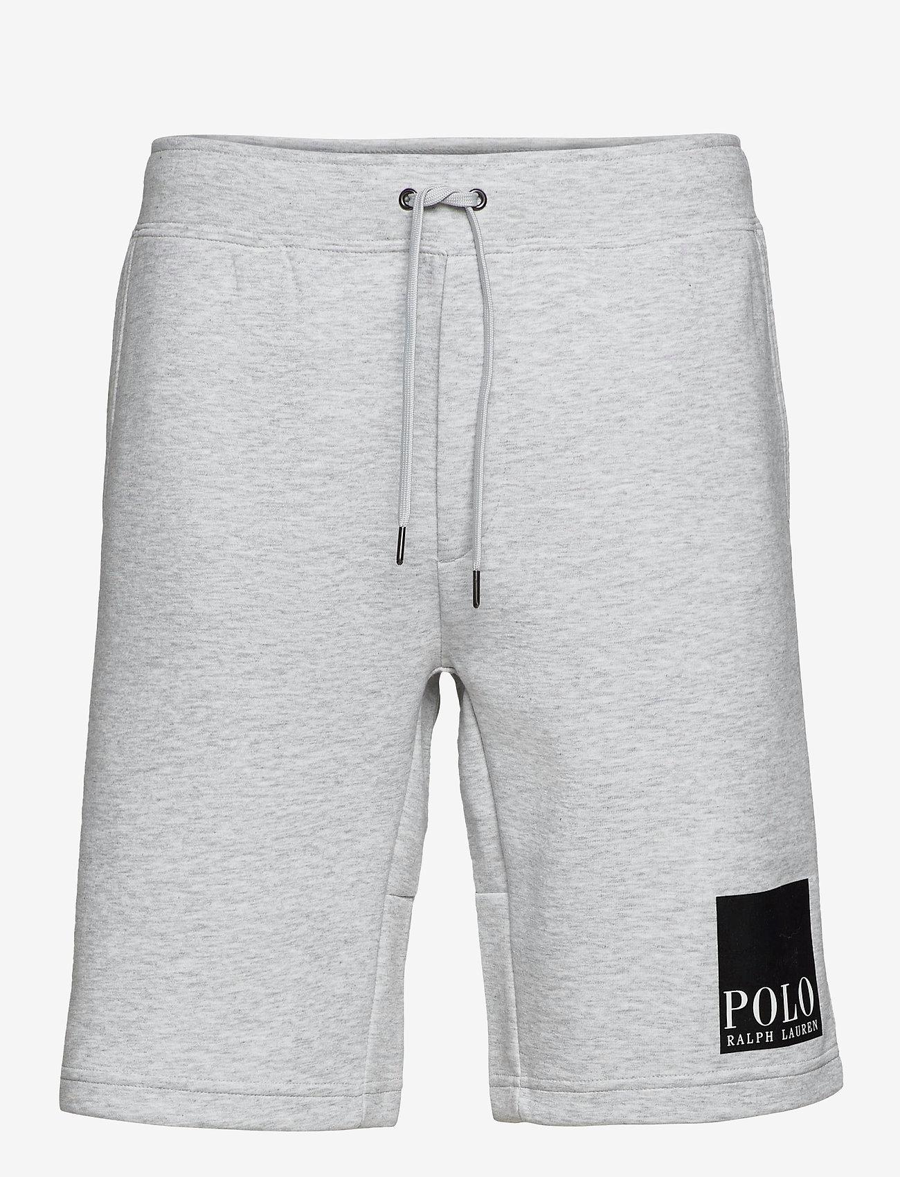 Polo Ralph Lauren - 7.5-Inch Logo Double-Knit Short - casual shorts - lt smoke heather - 0