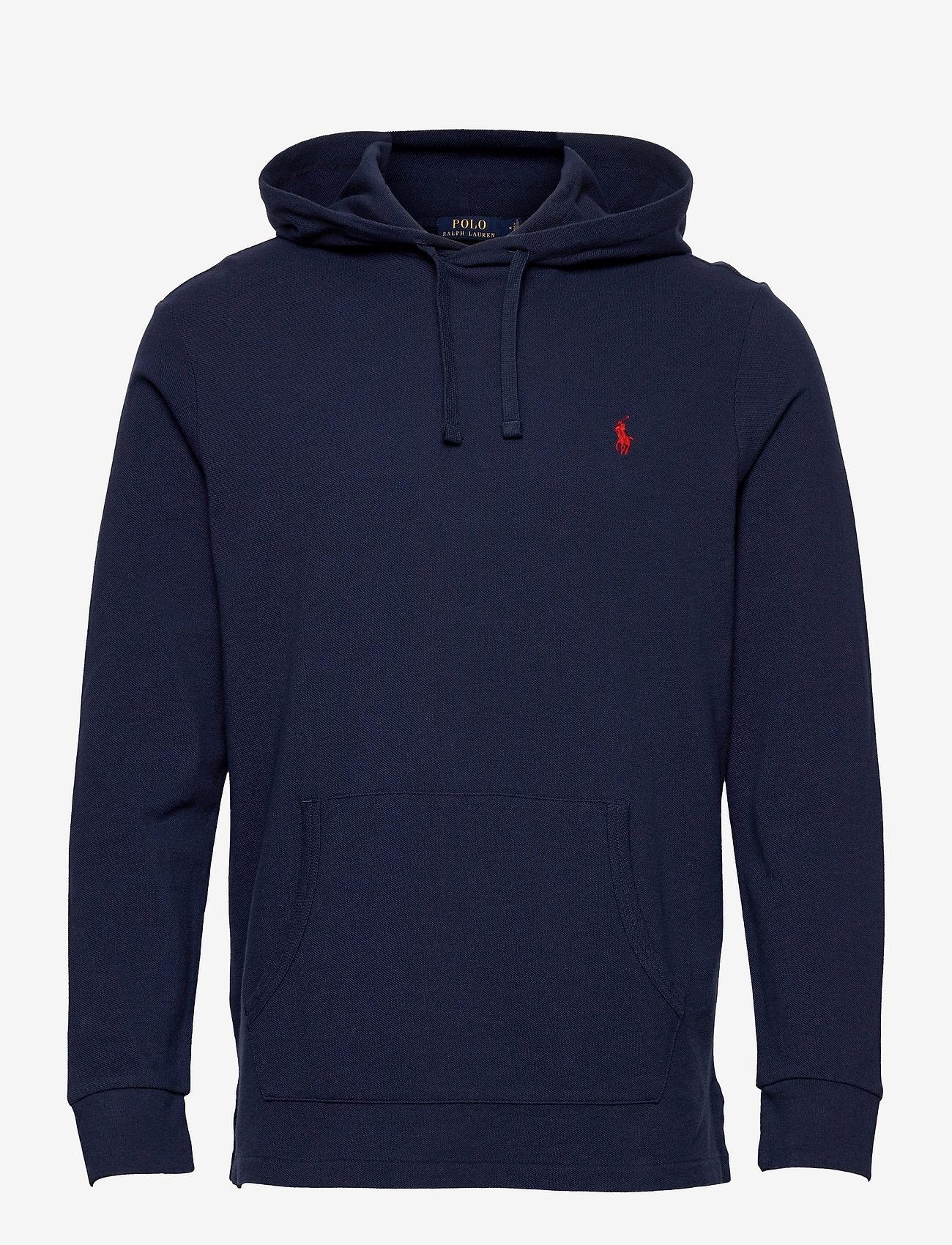 Polo Ralph Lauren - Mesh Hooded T-Shirt - hoodies - newport navy/c387 - 0