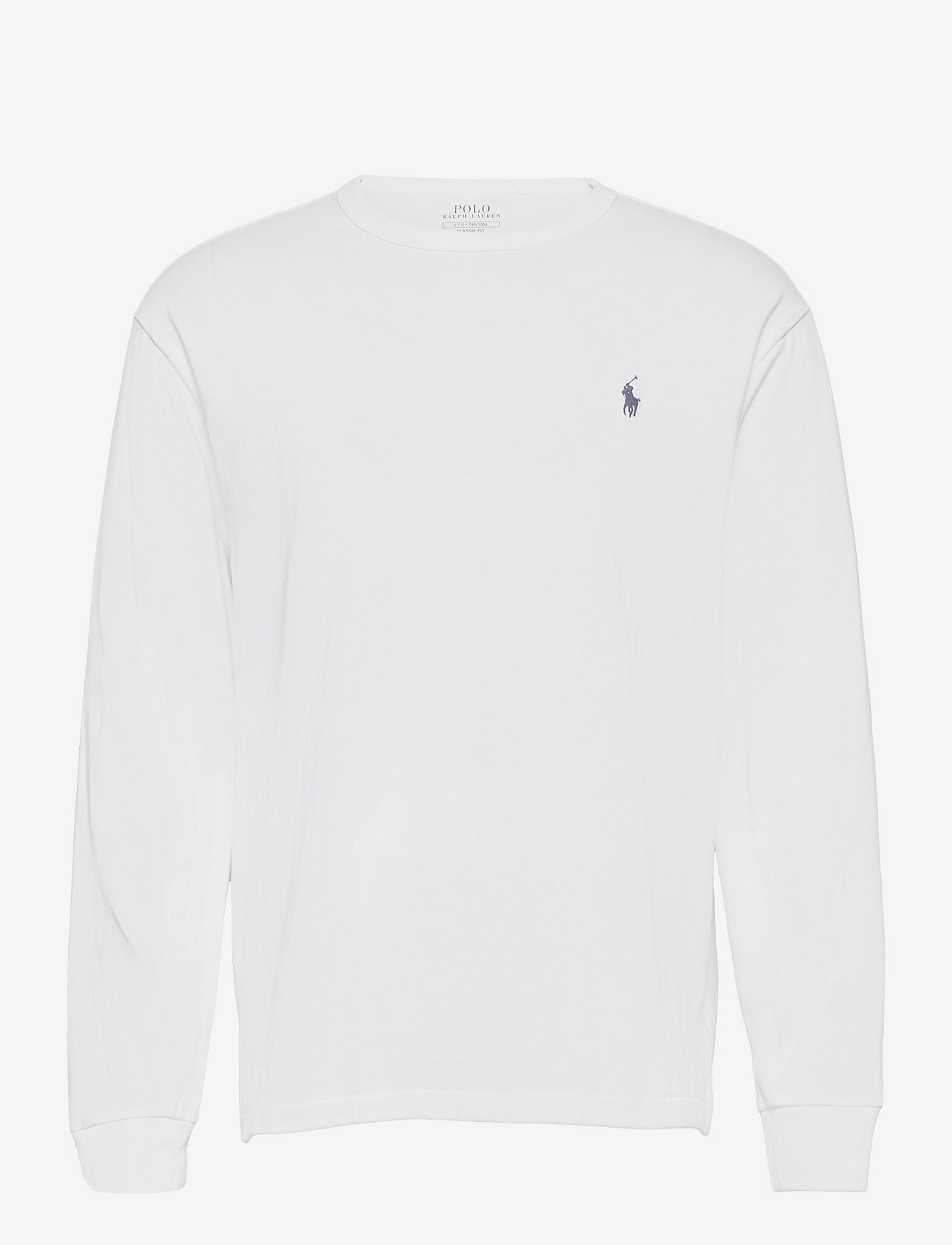 Polo Ralph Lauren - Classic Fit Jersey Long-Sleeve T-Shirt - basic t-shirts - white/c7996 - 0