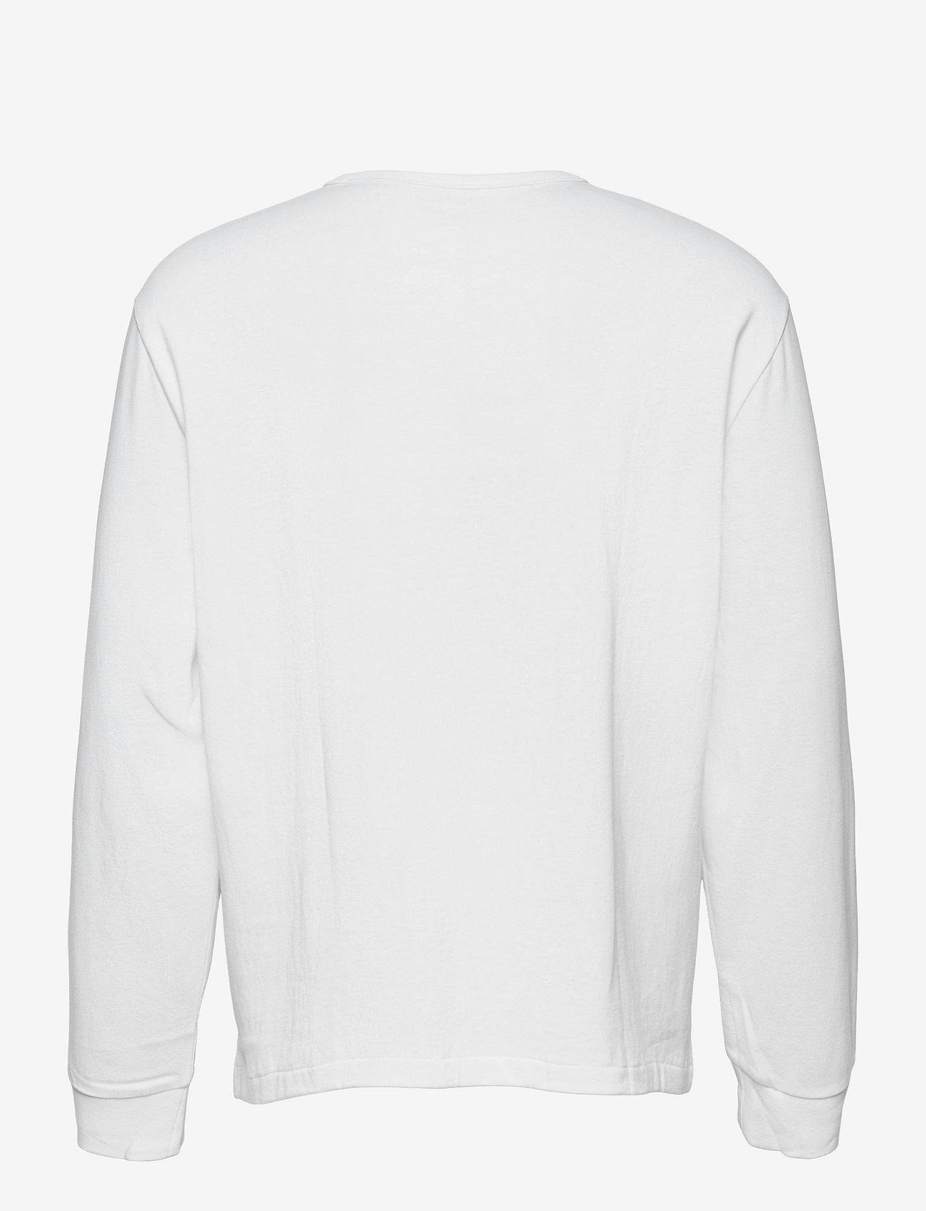 Polo Ralph Lauren - Classic Fit Jersey Long-Sleeve T-Shirt - basic t-shirts - white/c7996 - 1