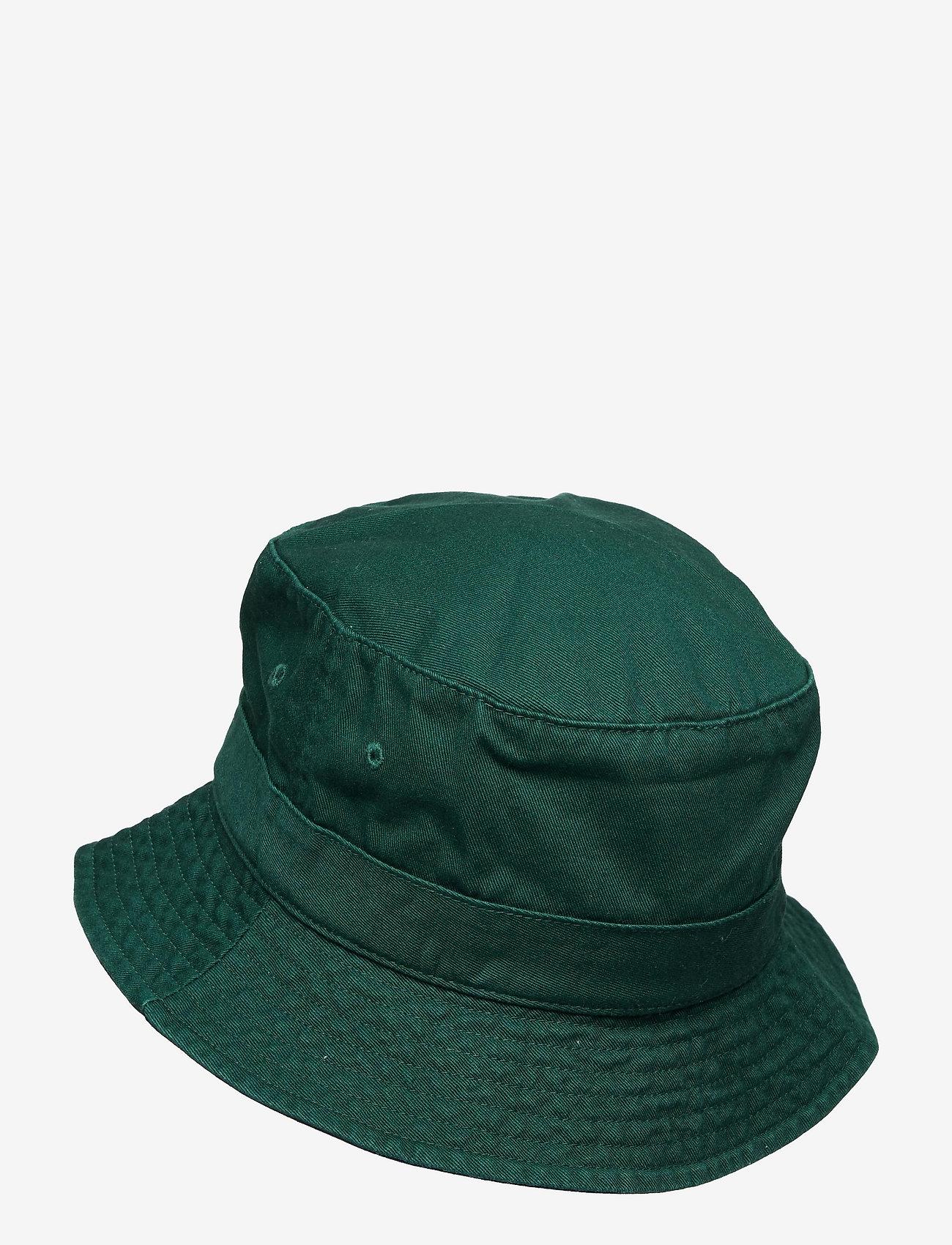 Polo Ralph Lauren - Polo Bear Chino Bucket Hat - bucket hats - college green - 1
