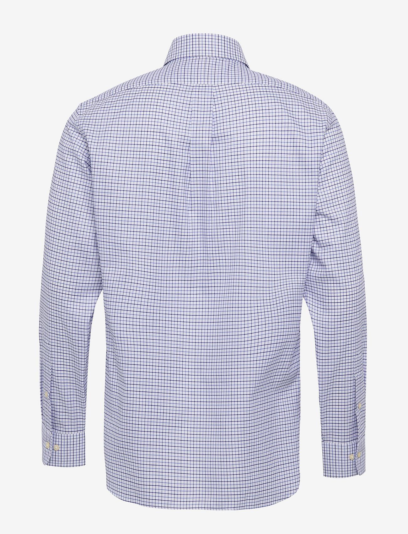Polo Ralph Lauren - Custom Fit Tattersall Shirt - koszule w kratkę - 3138a cobalt blue - 1