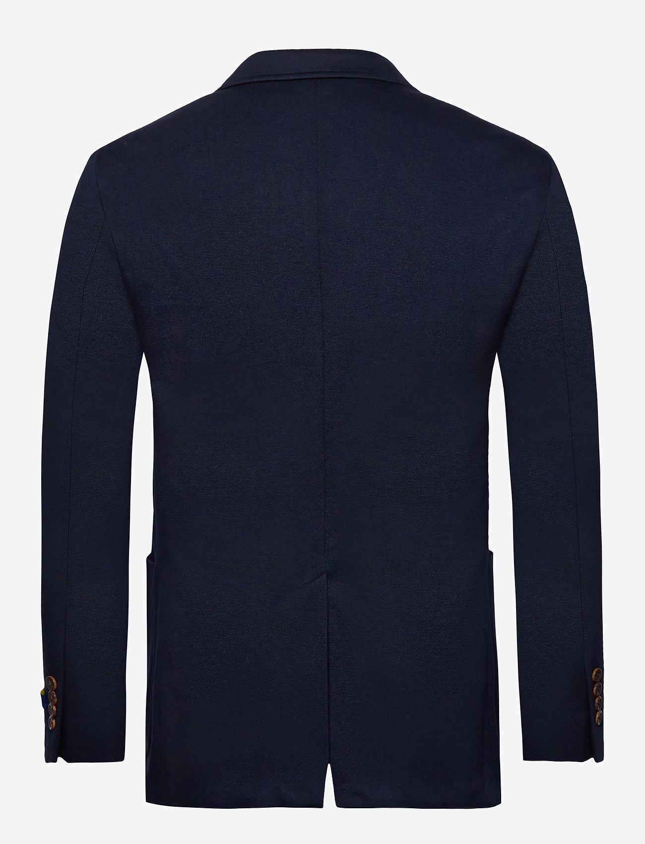 Polo Ralph Lauren - Polo Soft Knit Blazer - single breasted blazers - navy - 1