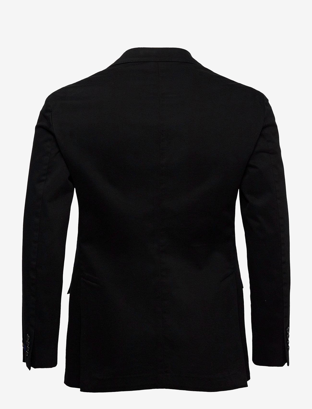 Polo Ralph Lauren - GMT DYE CTN STR CHN-P SOFT 2B NOTCH - enkelknäppta kavajer - black - 1