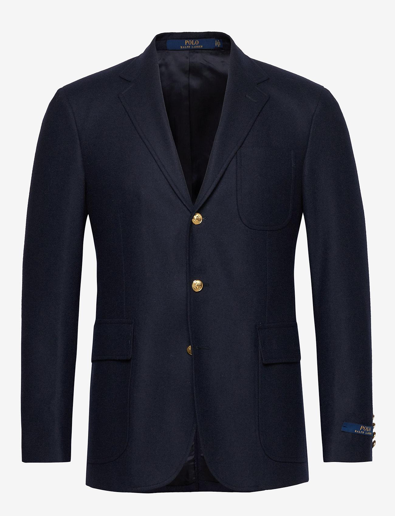 Polo Ralph Lauren - Polo Stretch Flannel Blazer - enkelknäppta kavajer - navy - 1