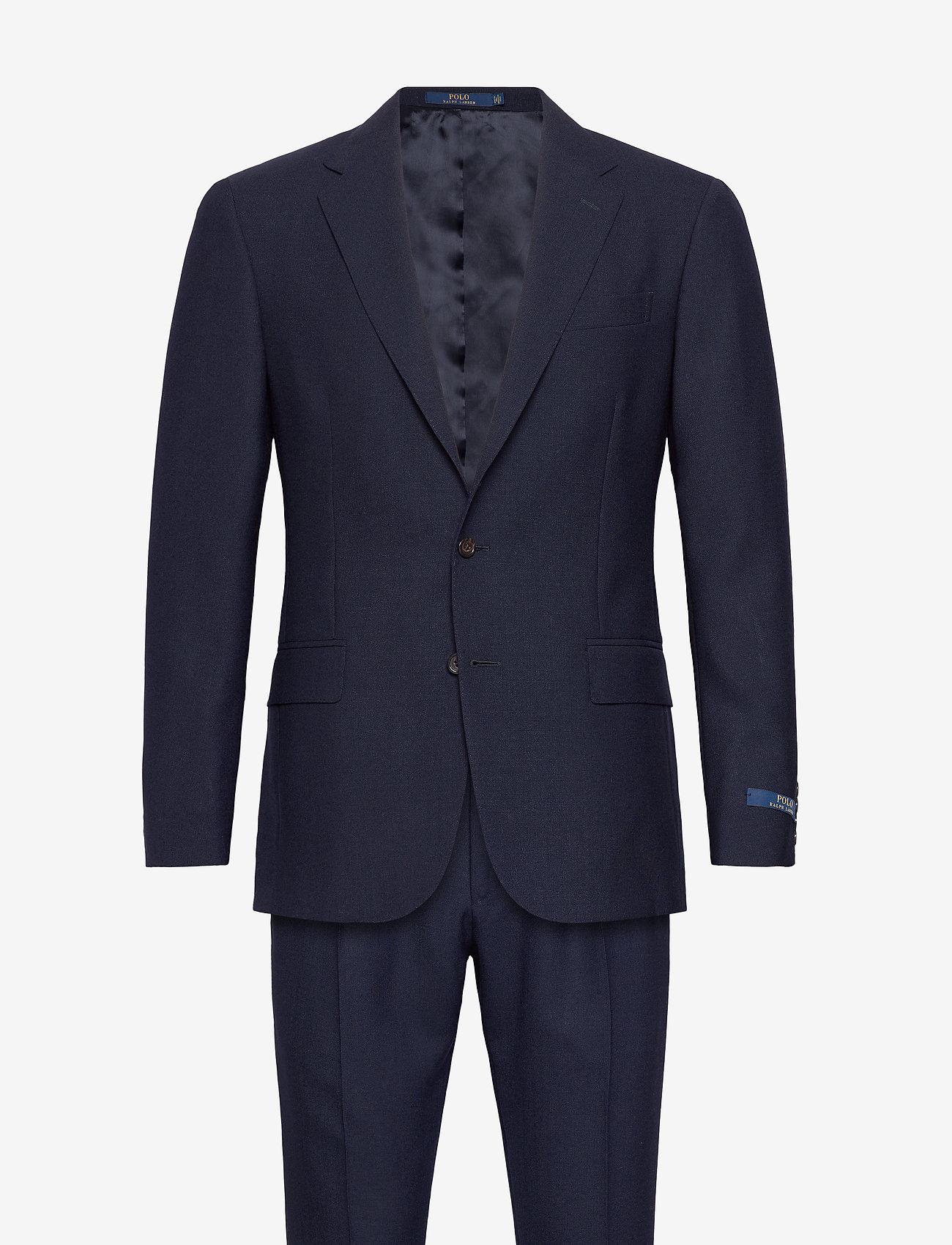 Polo Ralph Lauren - FRESCO-P 2BNT UC DBLE PLT - suits - navy - 0
