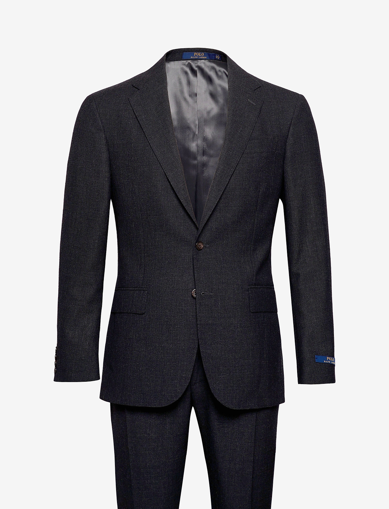 Polo Ralph Lauren - FRESCO-POLO 2B NTCH UC SNGL - suits - charcoal - 0