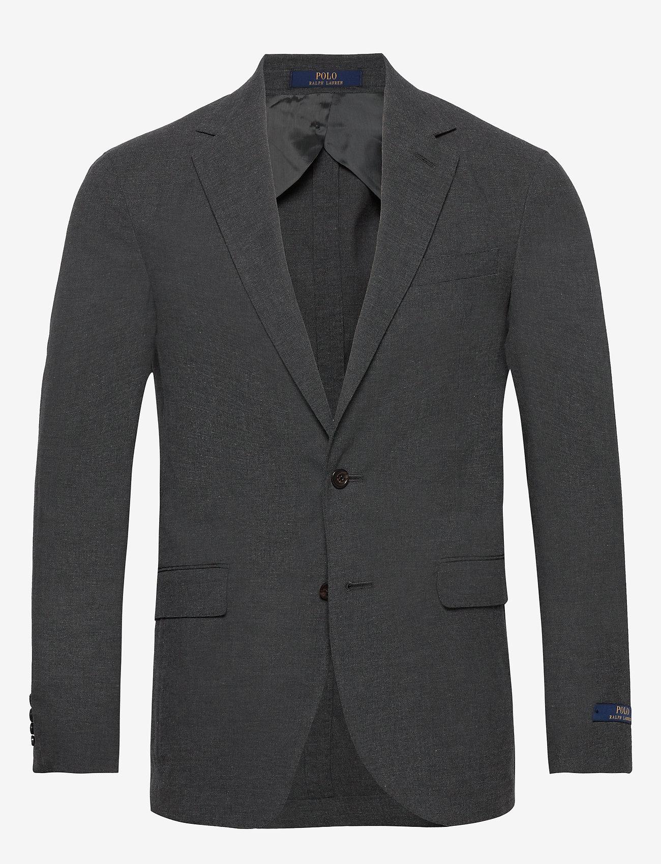 Polo Ralph Lauren - SOFT MICRO FANCY-P SOFT 2B NOTCH UC - enkelknäppta kavajer - medium grey - 0