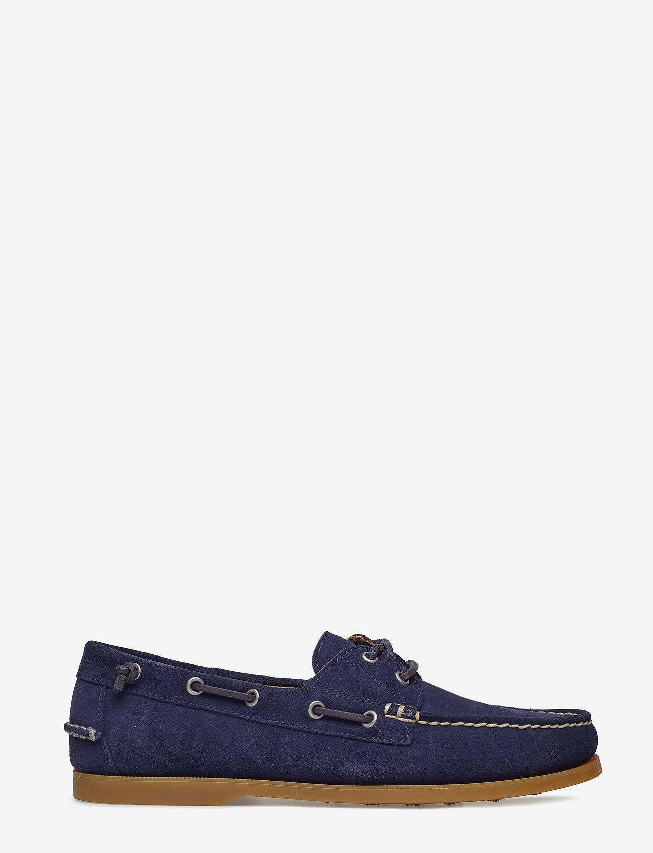 Polo Ralph Lauren Merton Suede Boat Shoe - Shoes
