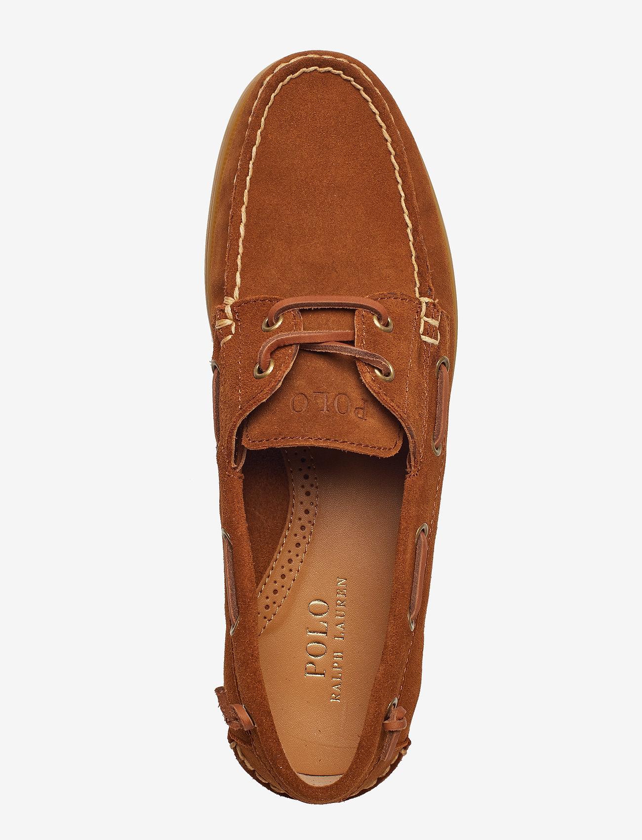 Merton Suede Boat Shoe (New Snuff) - Polo Ralph Lauren