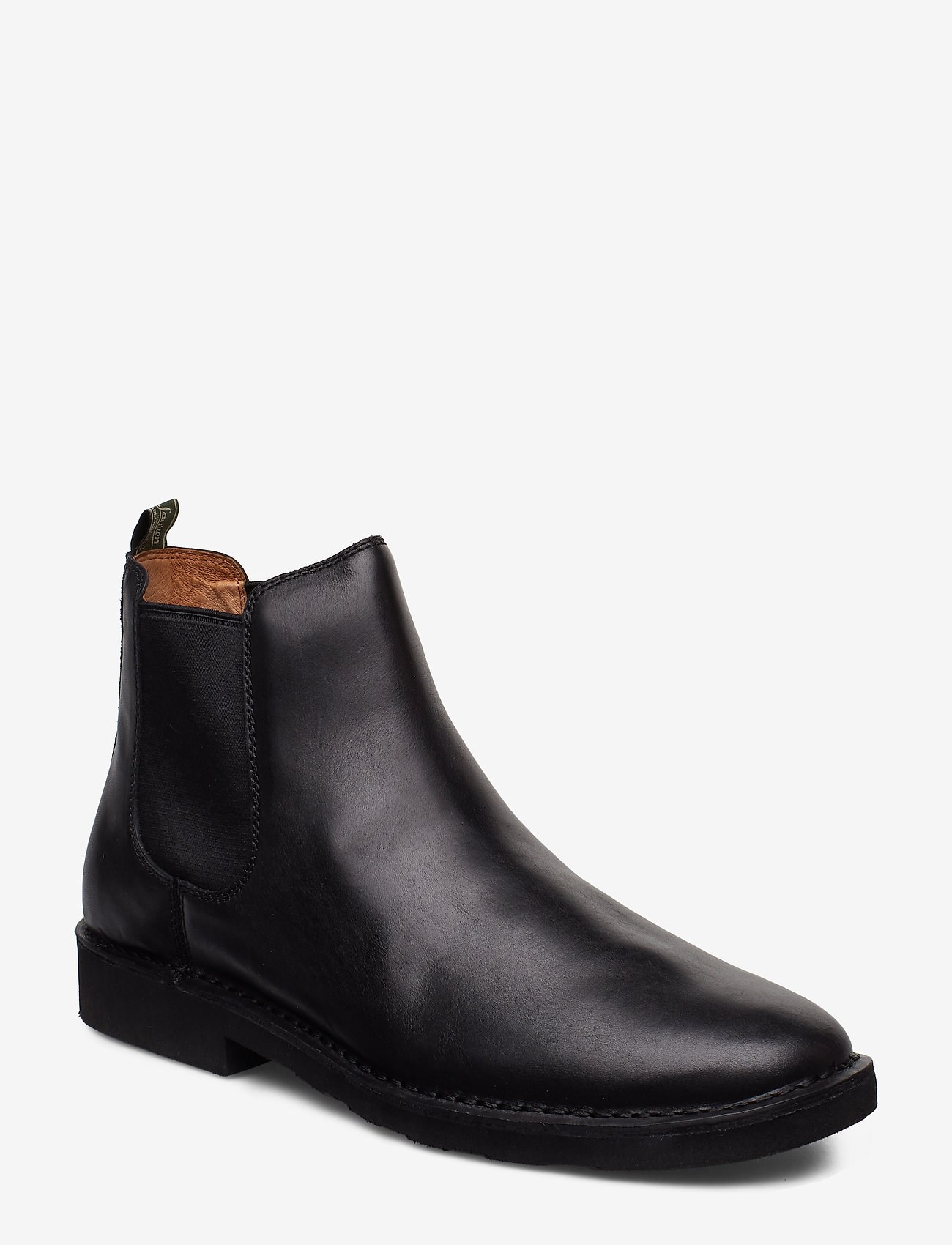 Polo Ralph Lauren - Talan Leather Chelsea Boot - chelsea boots - black - 0