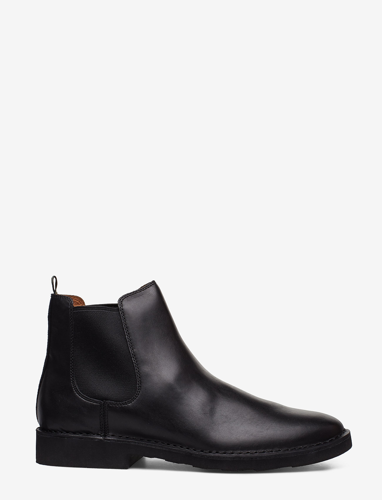 Polo Ralph Lauren - Talan Leather Chelsea Boot - chelsea boots - black - 1