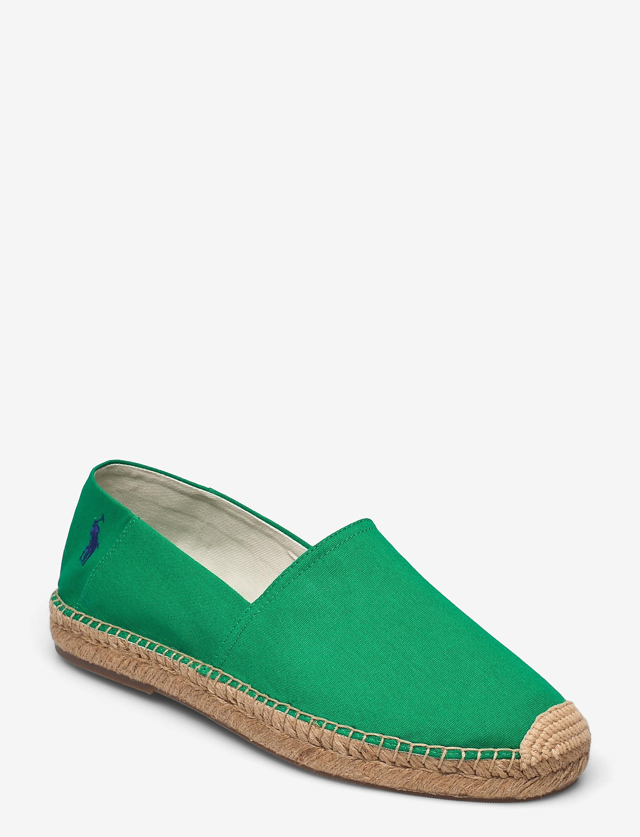 Polo Ralph Lauren - Cevio Cotton Canvas Espadrille - kengät - billard green/roy - 0