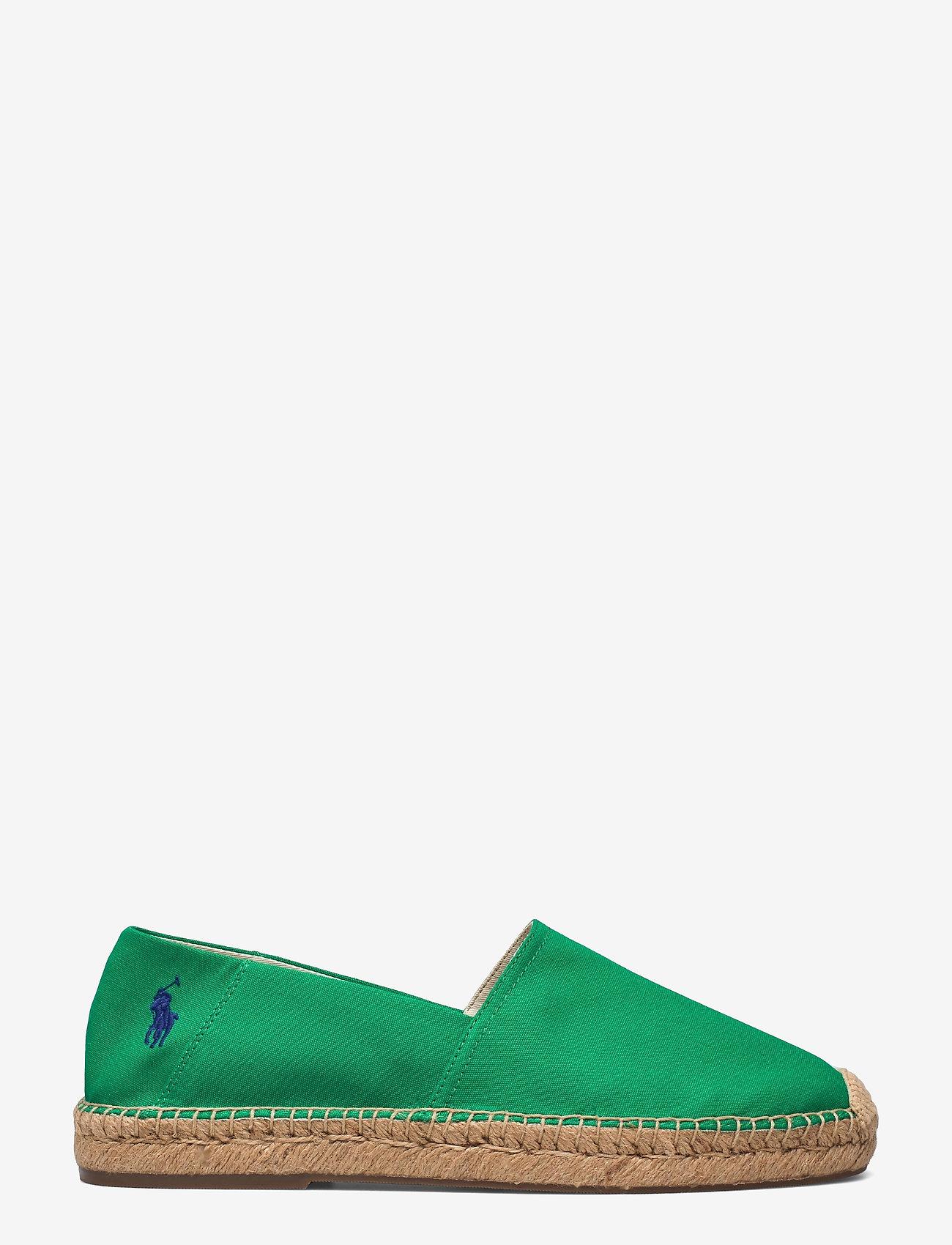 Polo Ralph Lauren - Cevio Cotton Canvas Espadrille - kengät - billard green/roy - 1