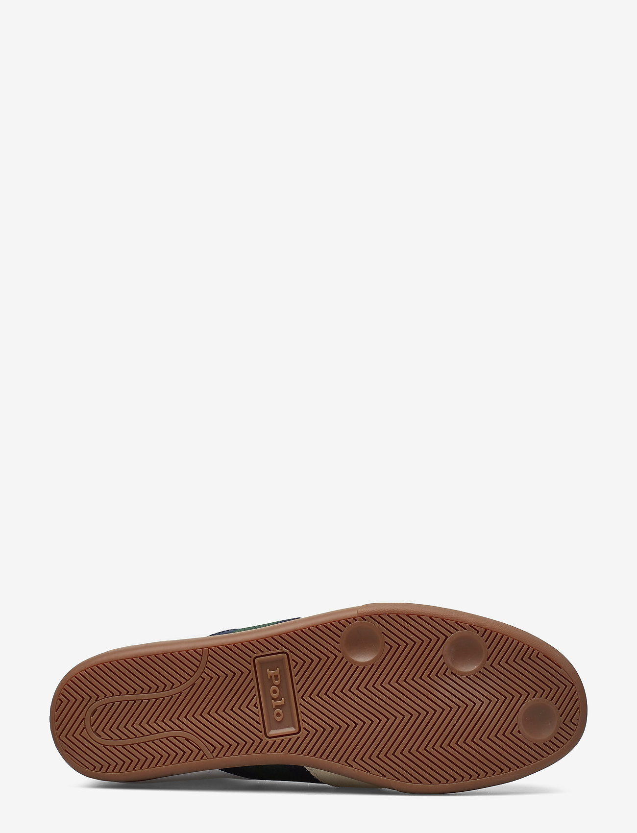 Camilo Suede-trim Sneaker (White/new Forest/) - Polo Ralph Lauren