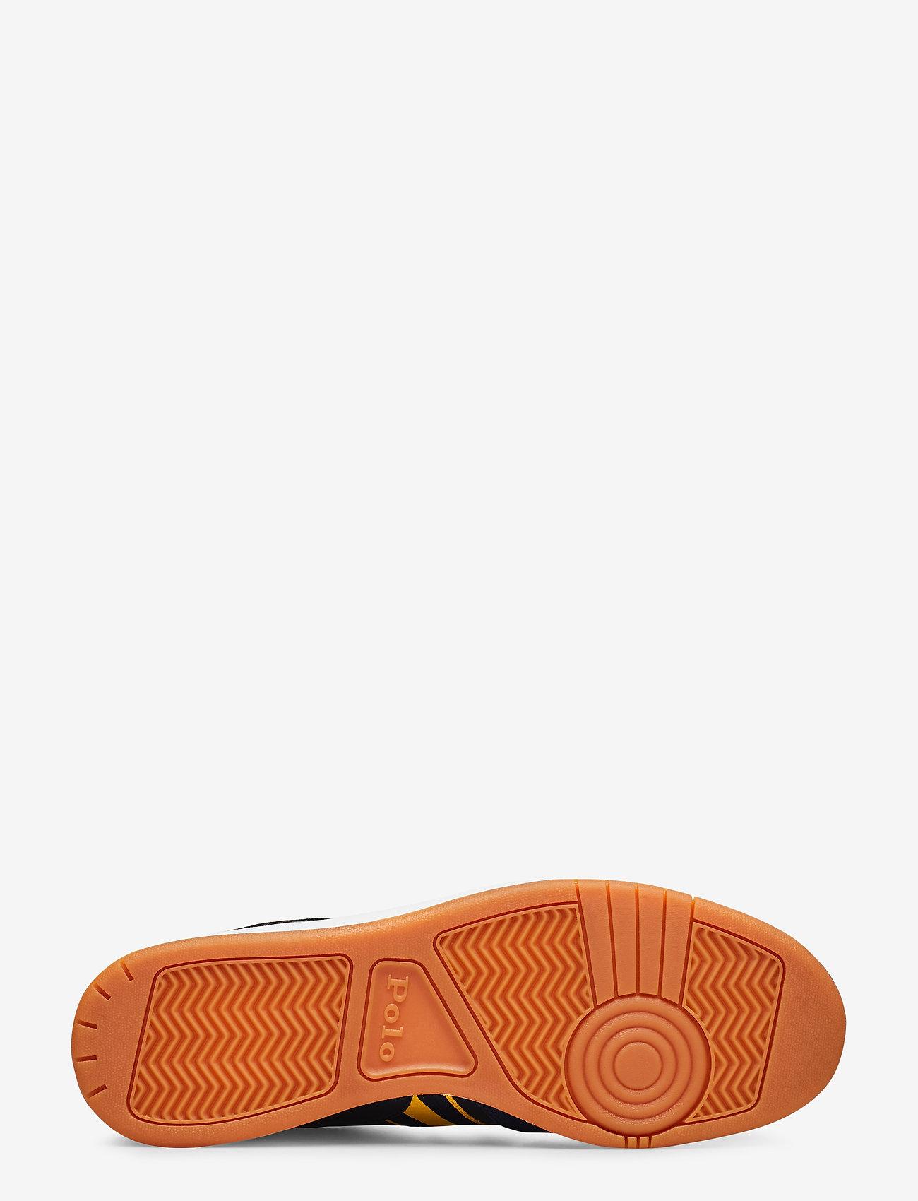 Polo Ralph Lauren Court Leather Sneaker - Sneakers Newport Navy/gold