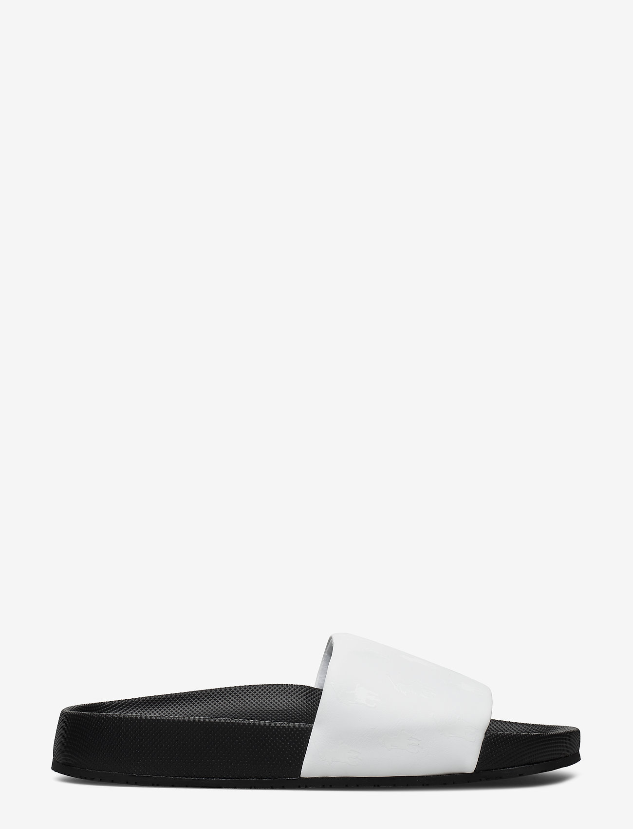Polo Ralph Lauren - Cayson Pony Slide Sandal - pool sliders - black/white - 1