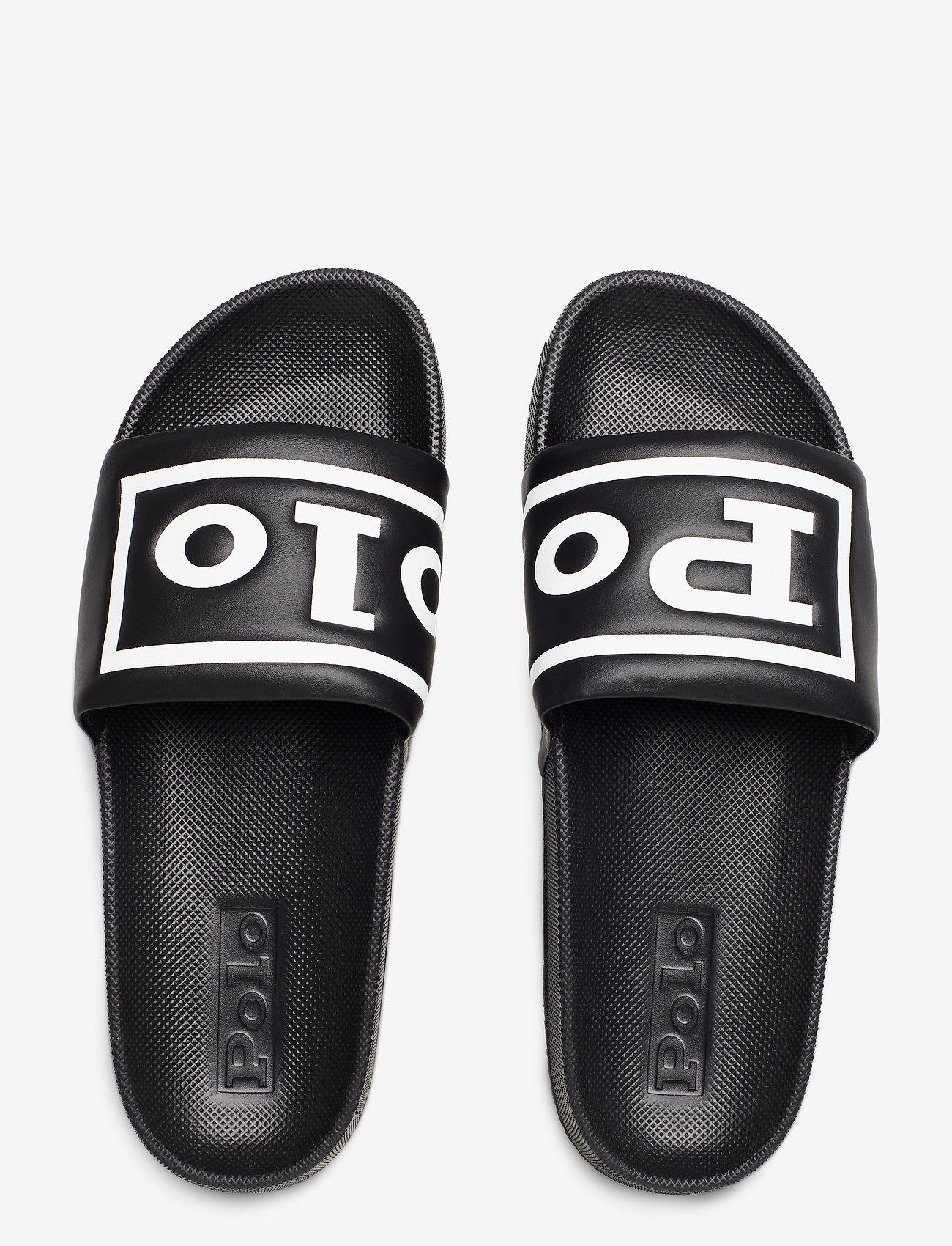 Polo Ralph Lauren Cayson Slide Sandal - Sandaler Black/white