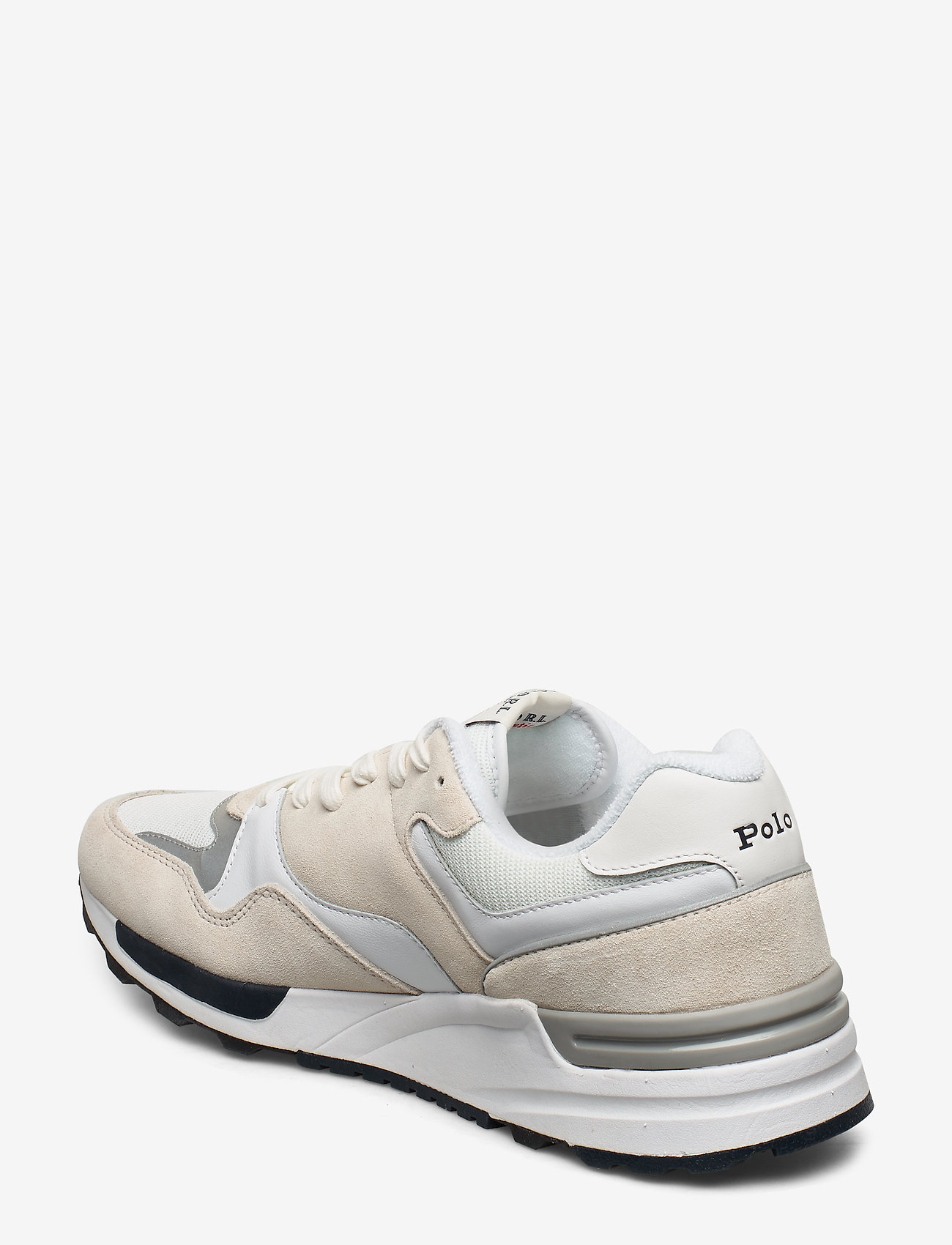 Trackster 100 Sneaker (White/navy Pp) - Polo Ralph Lauren