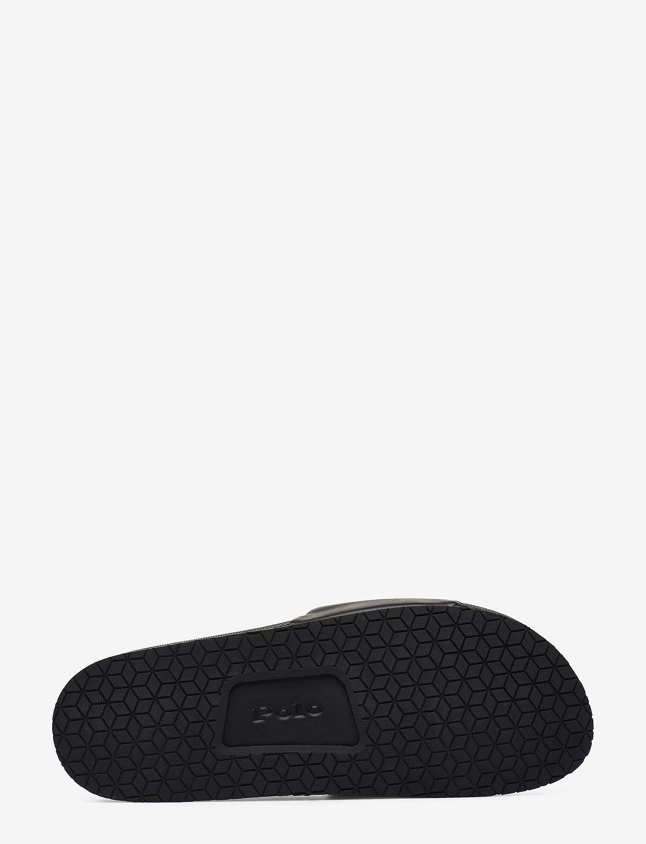 Polo Ralph Lauren Cayson Pony Slide Sandal - Sandalen BLACK/RED PP - Schuhe Billige
