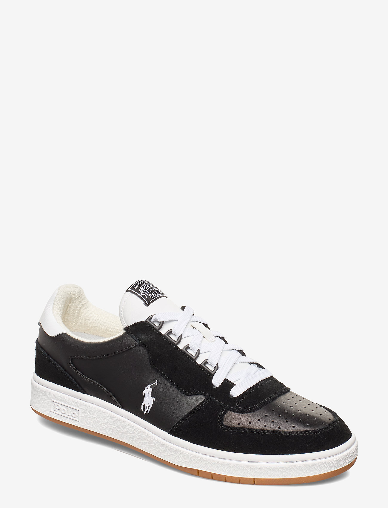 Polo Ralph Lauren - Court Leather Sneaker - low tops - black/white pp - 0