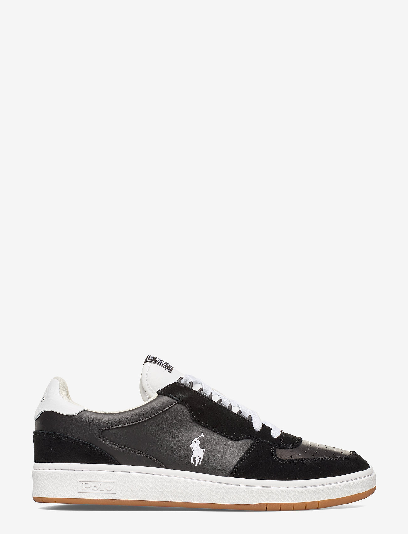 Polo Ralph Lauren - Court Leather Sneaker - low tops - black/white pp - 1