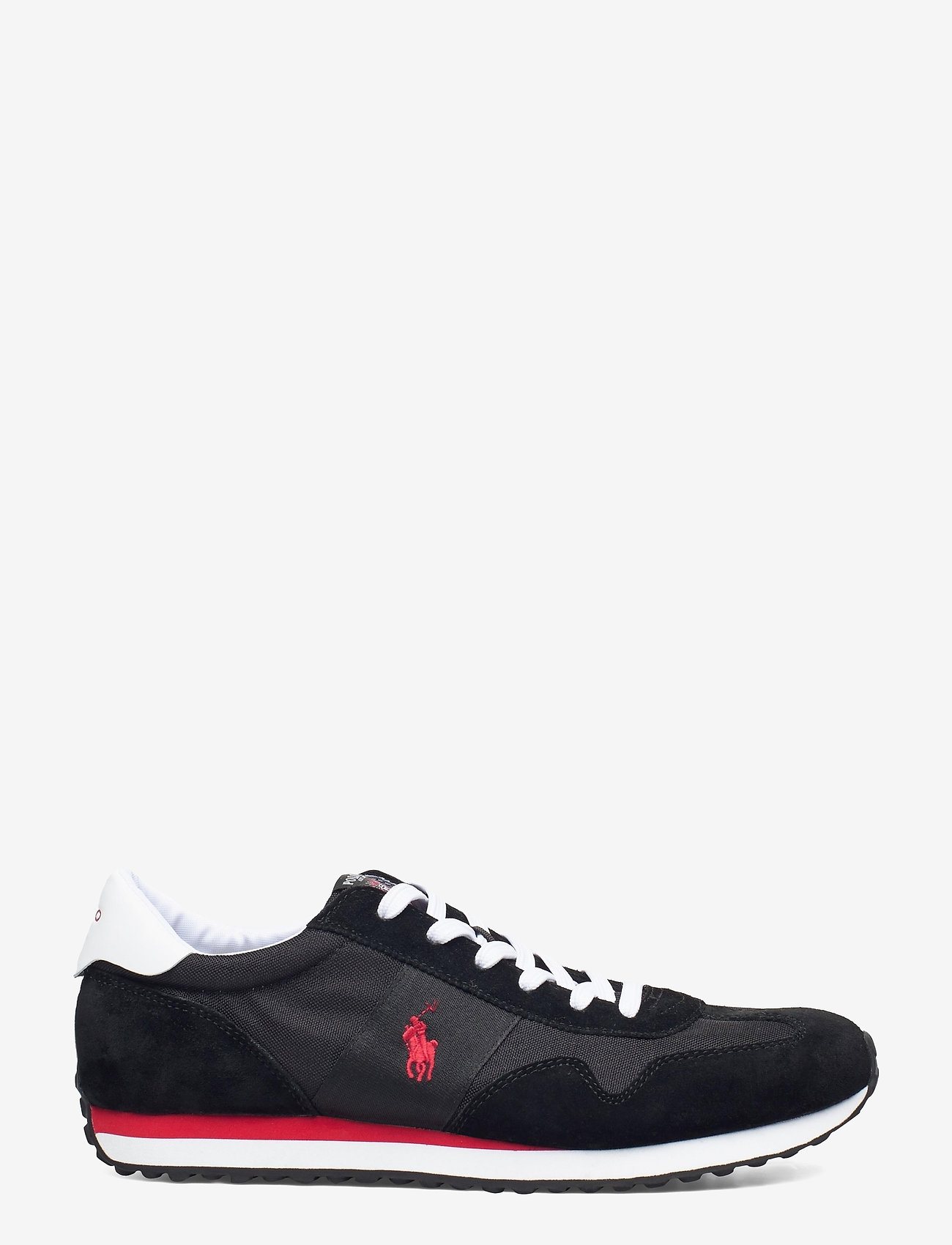 Polo Ralph Lauren - Train 85 Sneaker - low tops - black/rl2000 red - 1