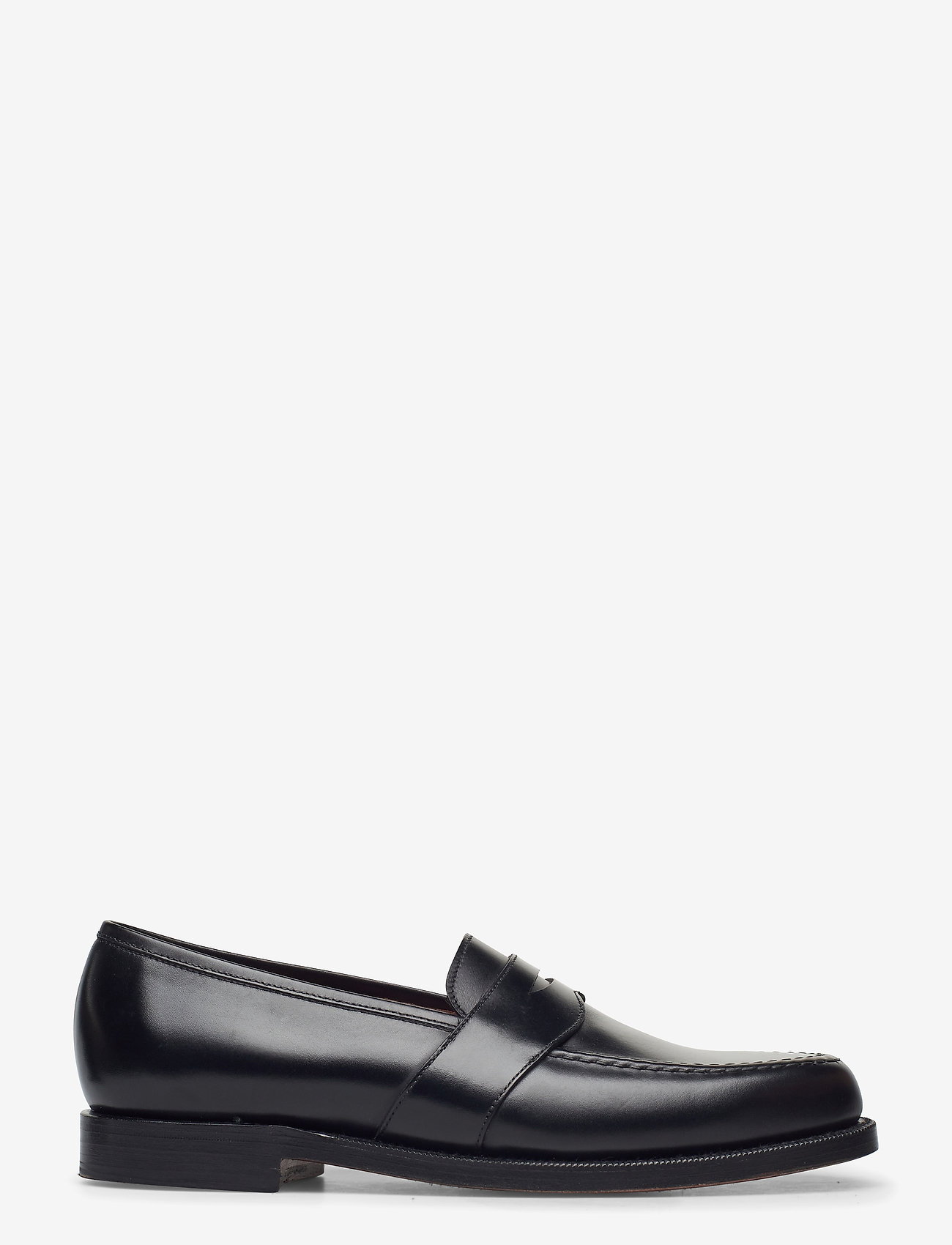 Polo Ralph Lauren - Braygan Calfskin Penny Loafer - loafers - black - 1