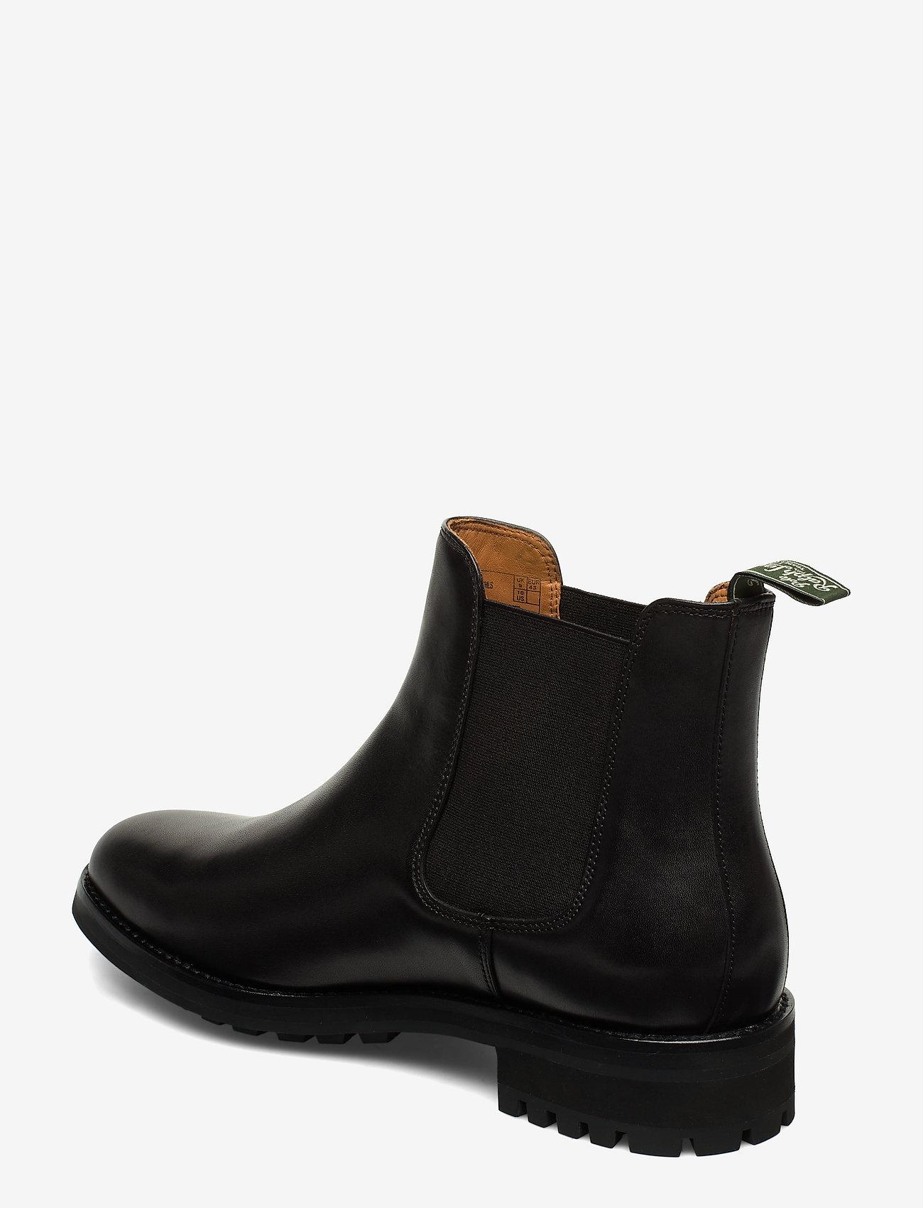 Polo Ralph Lauren - Bryson Leather Chelsea Boot - chelsea boots - black - 1