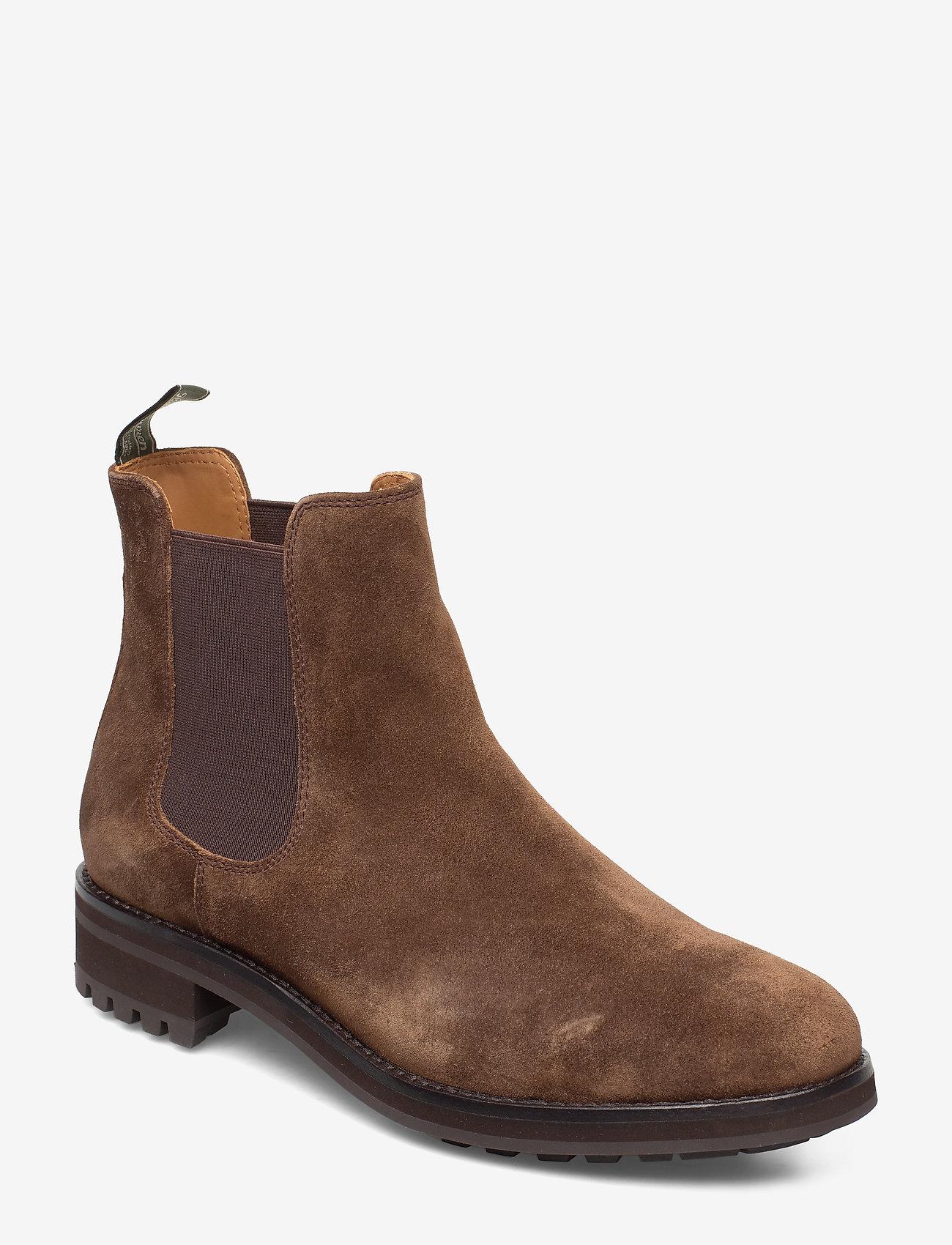 Polo Ralph Lauren - Bryson Suede Chelsea Boot - chelsea boots - brown - 0