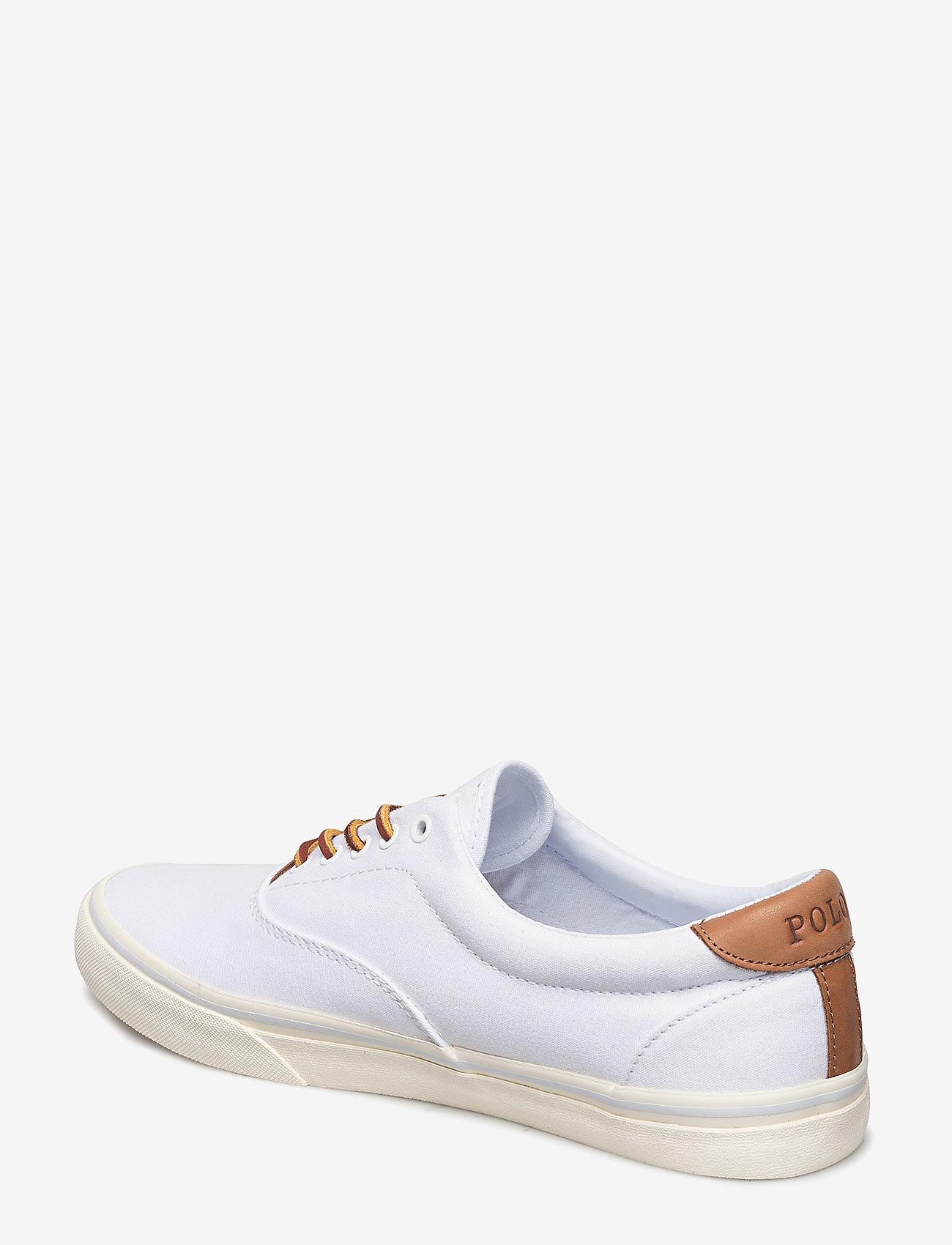 Polo Ralph Lauren Thorton Canvas Sneaker - Sneakers WHITE - Schuhe Billige