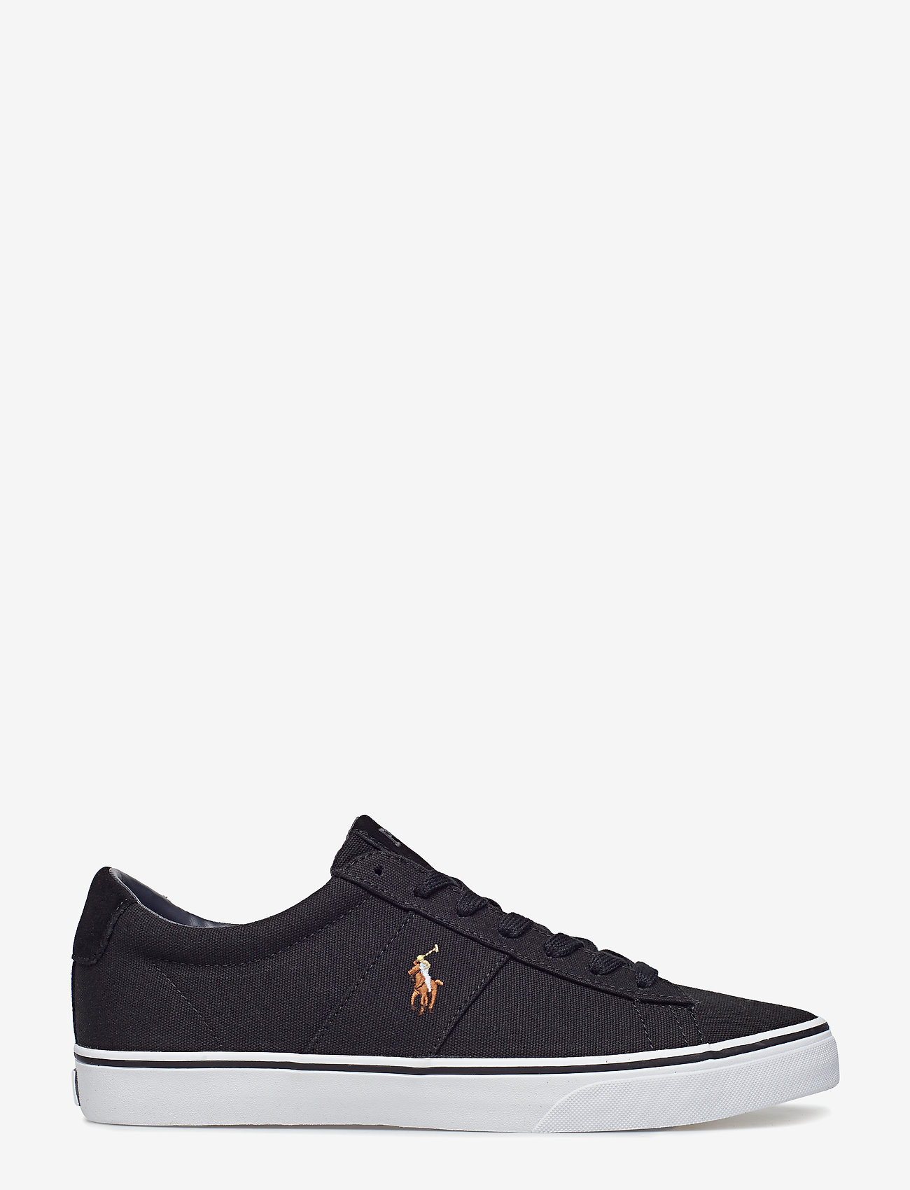 Polo Ralph Lauren - Sayer Canvas Sneaker - low tops - black - 1