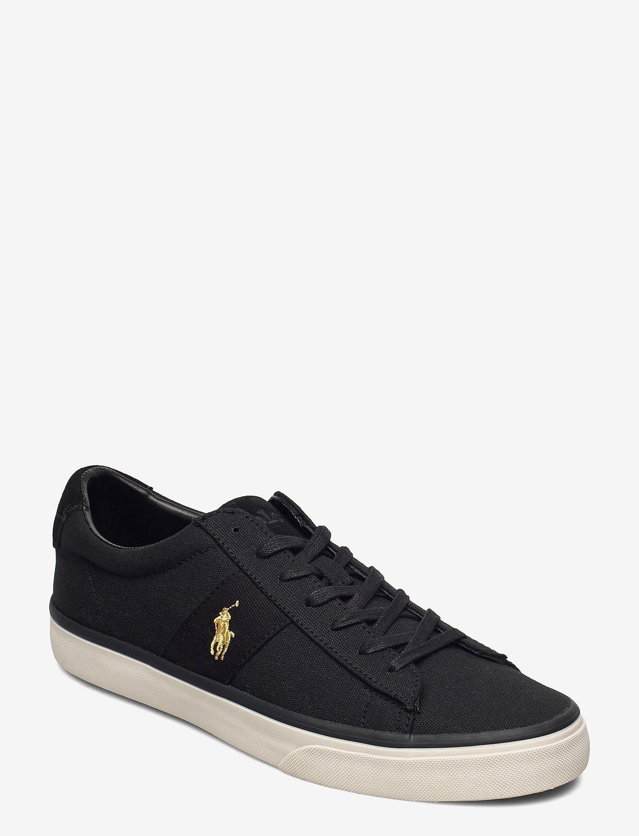 Sayer Canvas Sneaker (Black/gold Pp