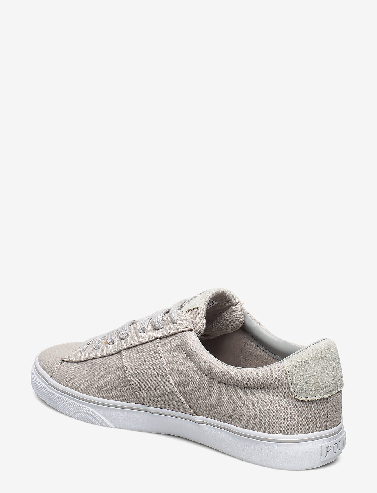 Polo Ralph Lauren Sayer Canvas Sneaker - Sneakers SOFT GREY - Schuhe Billige