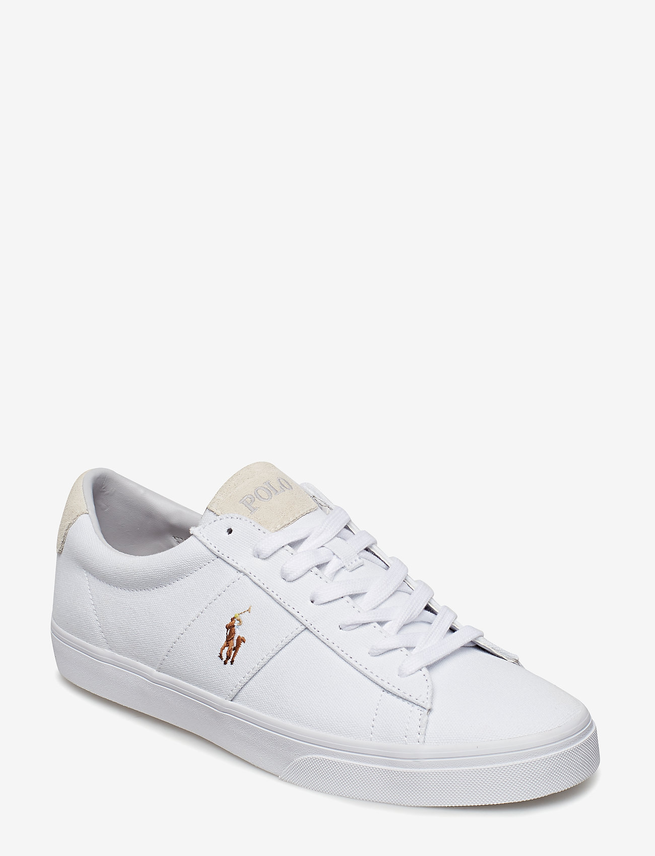 Polo Ralph Lauren - Sayer Canvas Sneaker - low tops - white - 0