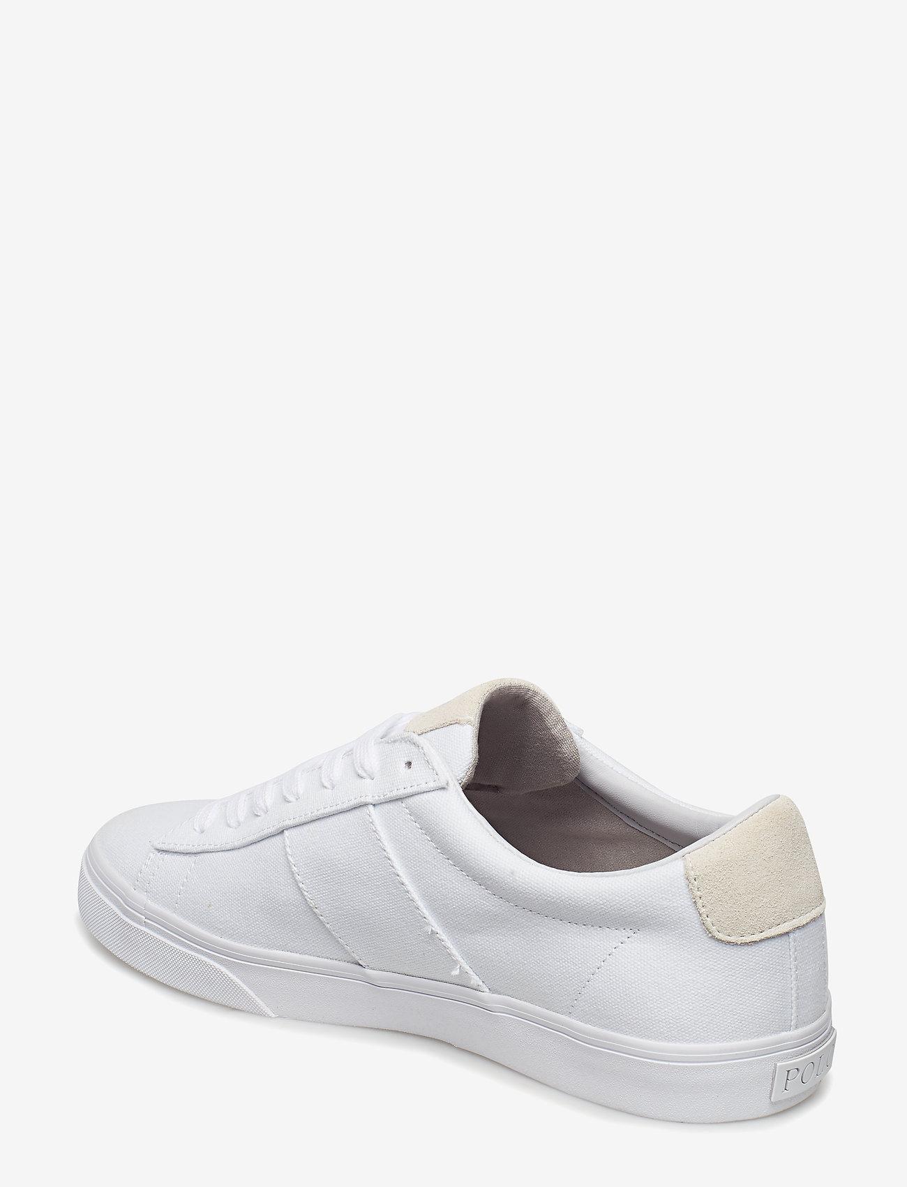 Polo Ralph Lauren Sayer Canvas Sneaker - Sneakers WHITE - Schuhe Billige