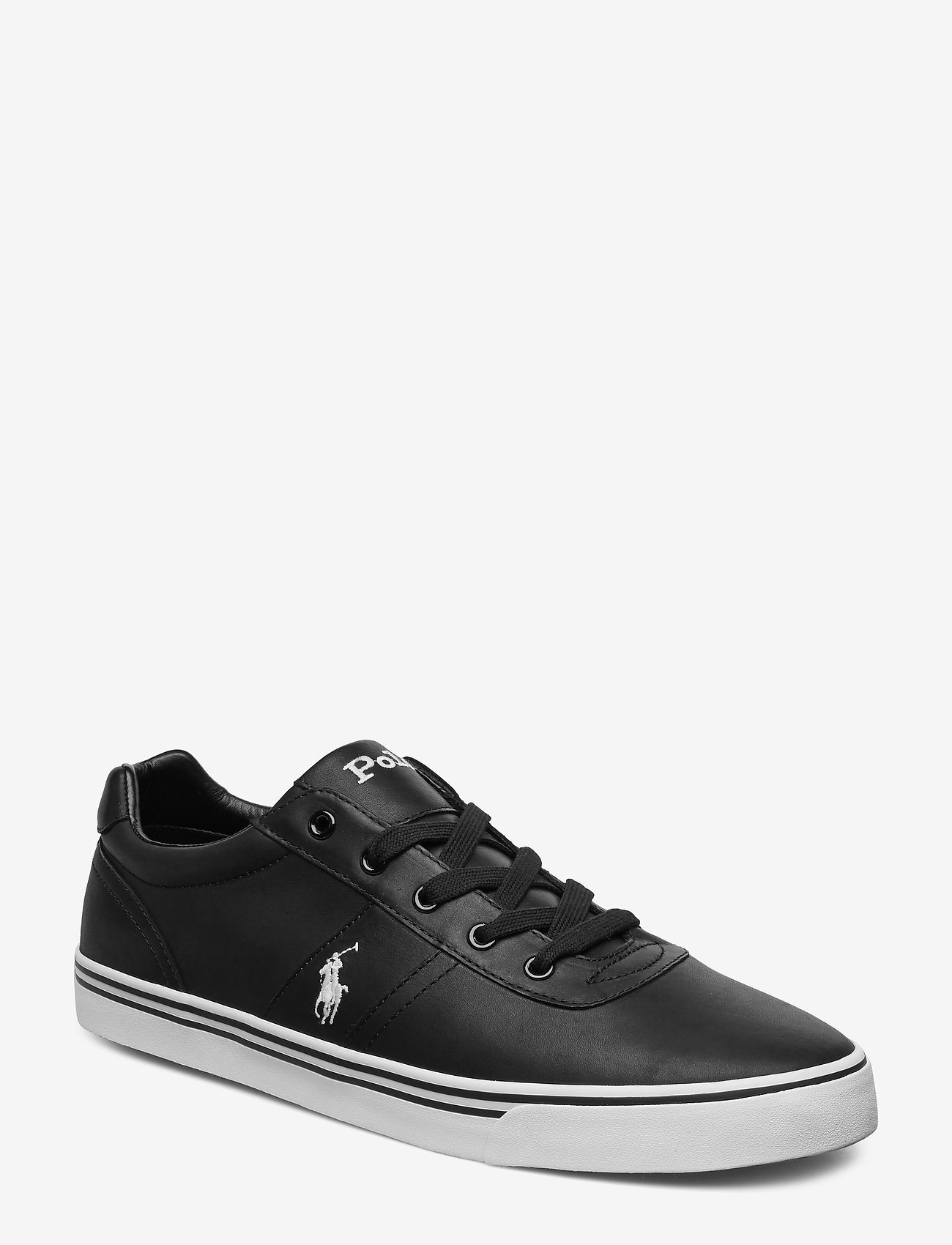 Polo Ralph Lauren - Hanford Leather Sneaker - low tops - black - 0