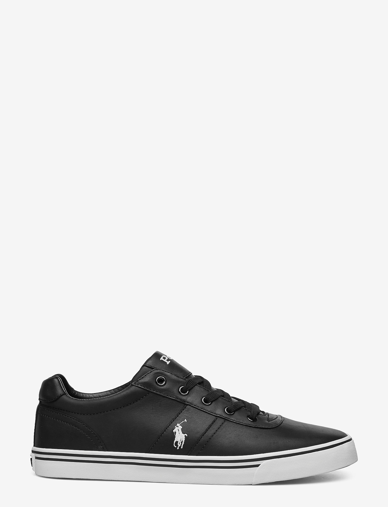 Polo Ralph Lauren - Hanford Leather Sneaker - low tops - black - 1