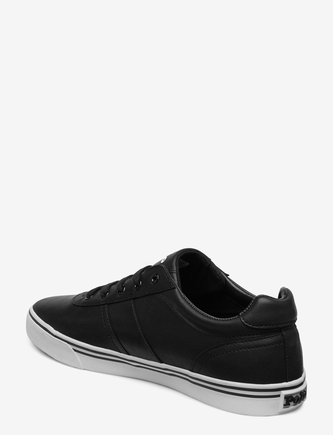 Polo Ralph Lauren - Hanford Leather Sneaker - låga sneakers - black - 2