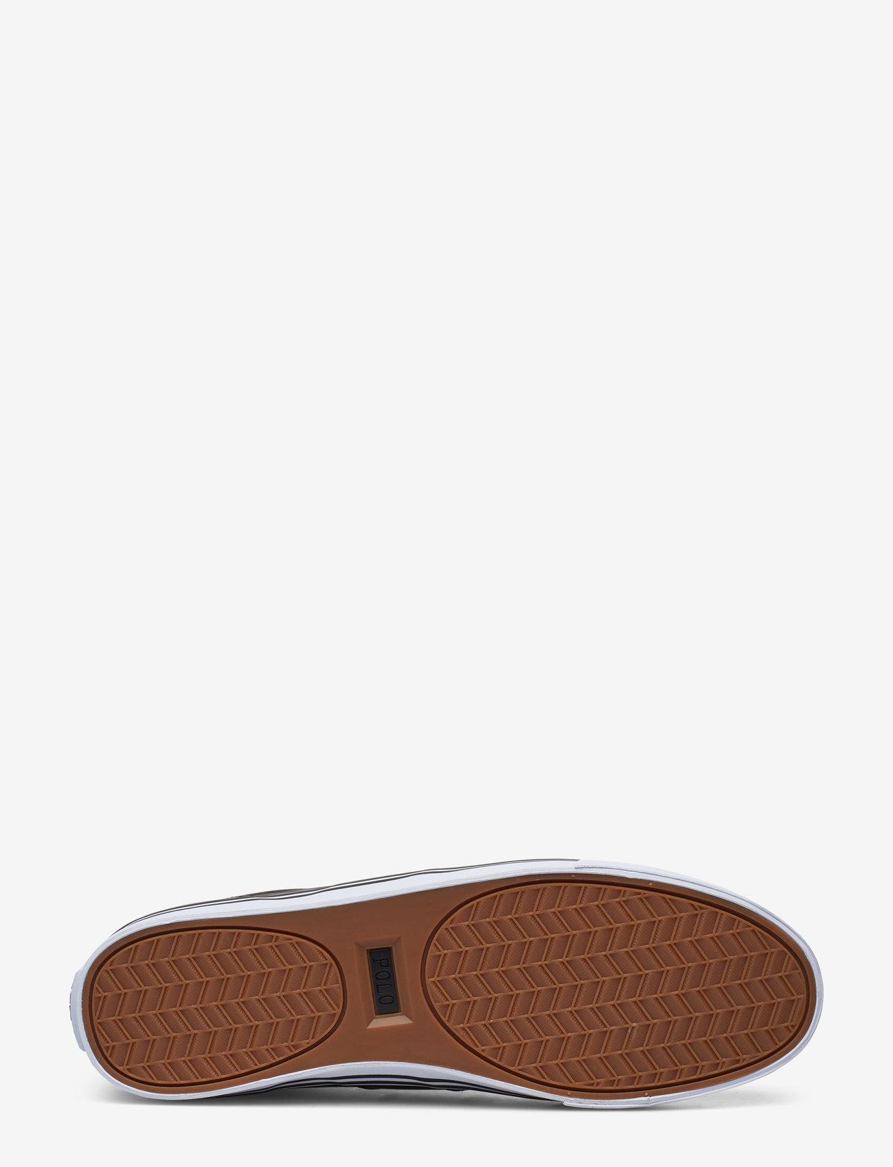 Polo Ralph Lauren - Hanford Leather Sneaker - låga sneakers - black - 4