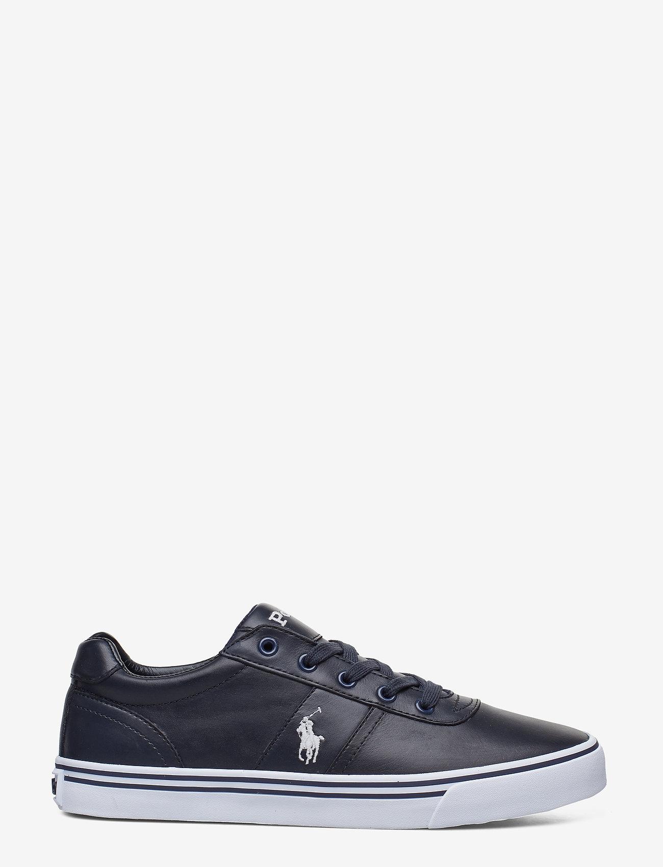 Polo Ralph Lauren - Hanford Leather Sneaker - low tops - newport navy - 1