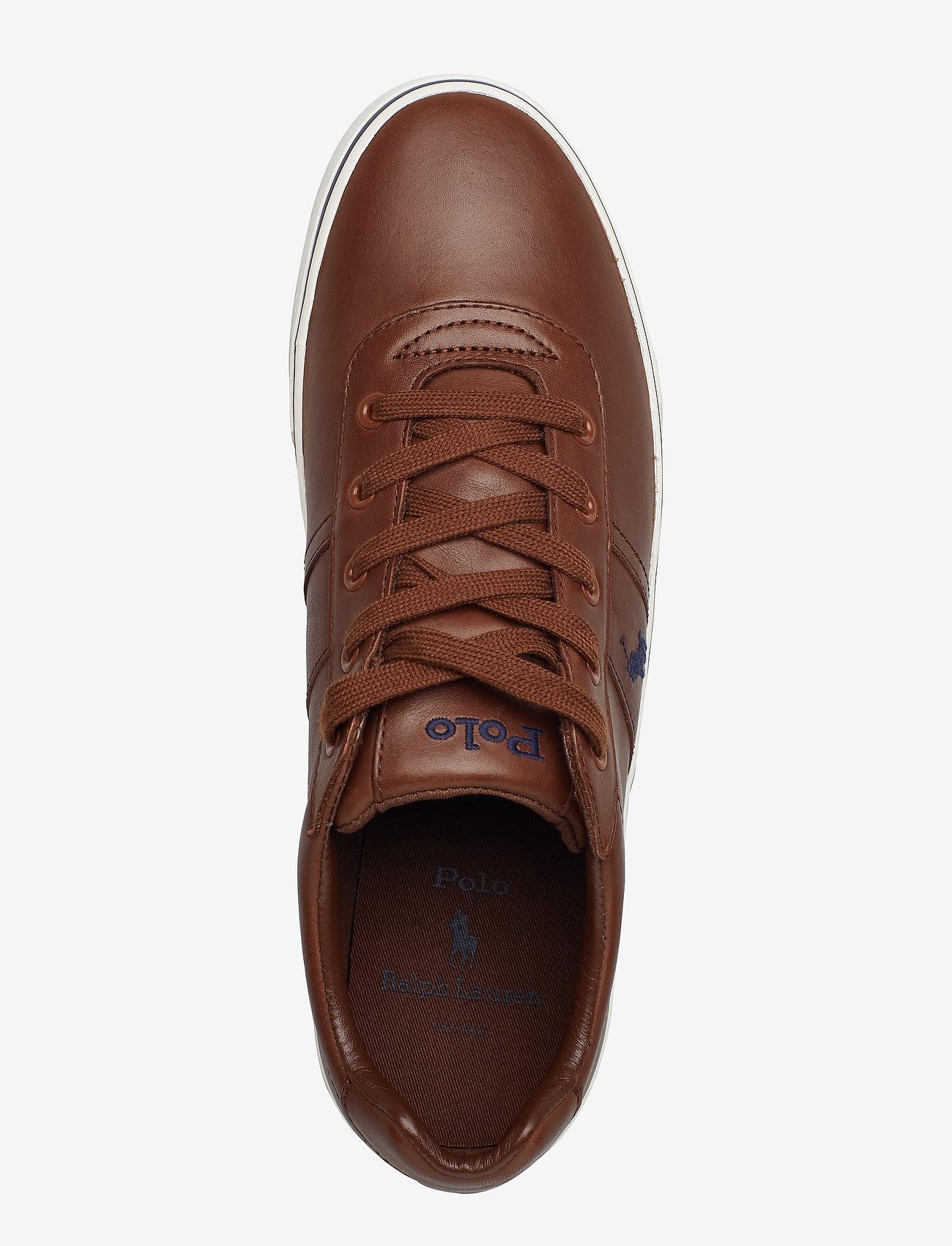 Polo Ralph Lauren - Hanford Leather Sneaker - låga sneakers - tan - 3
