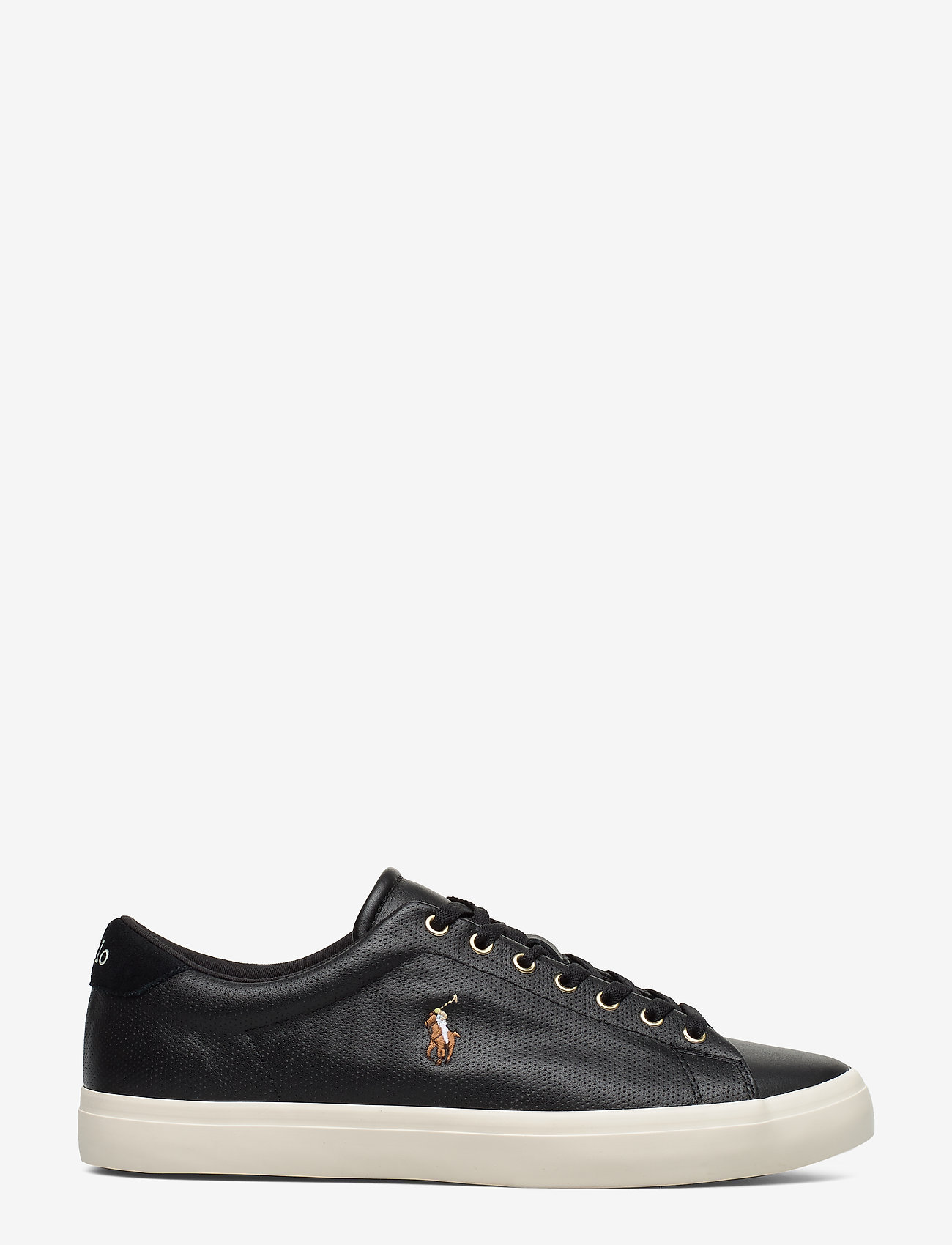 Polo Ralph Lauren - Longwood Leather Sneaker - low tops - black - 1