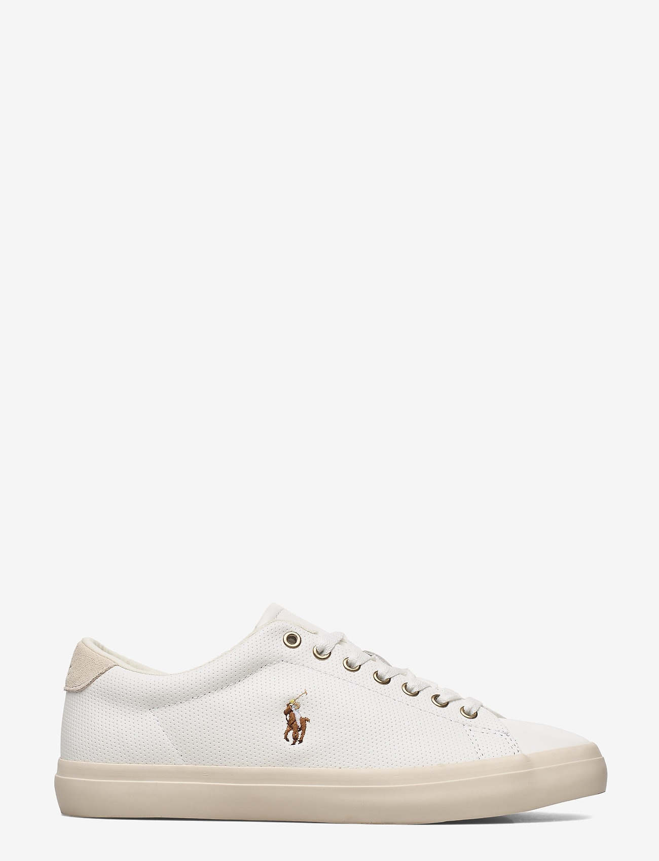 Polo Ralph Lauren - Longwood Leather Sneaker - low tops - white - 1