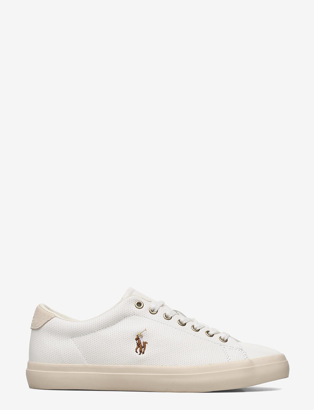Polo Ralph Lauren - Longwood Leather Sneaker - low tops - white - 1
