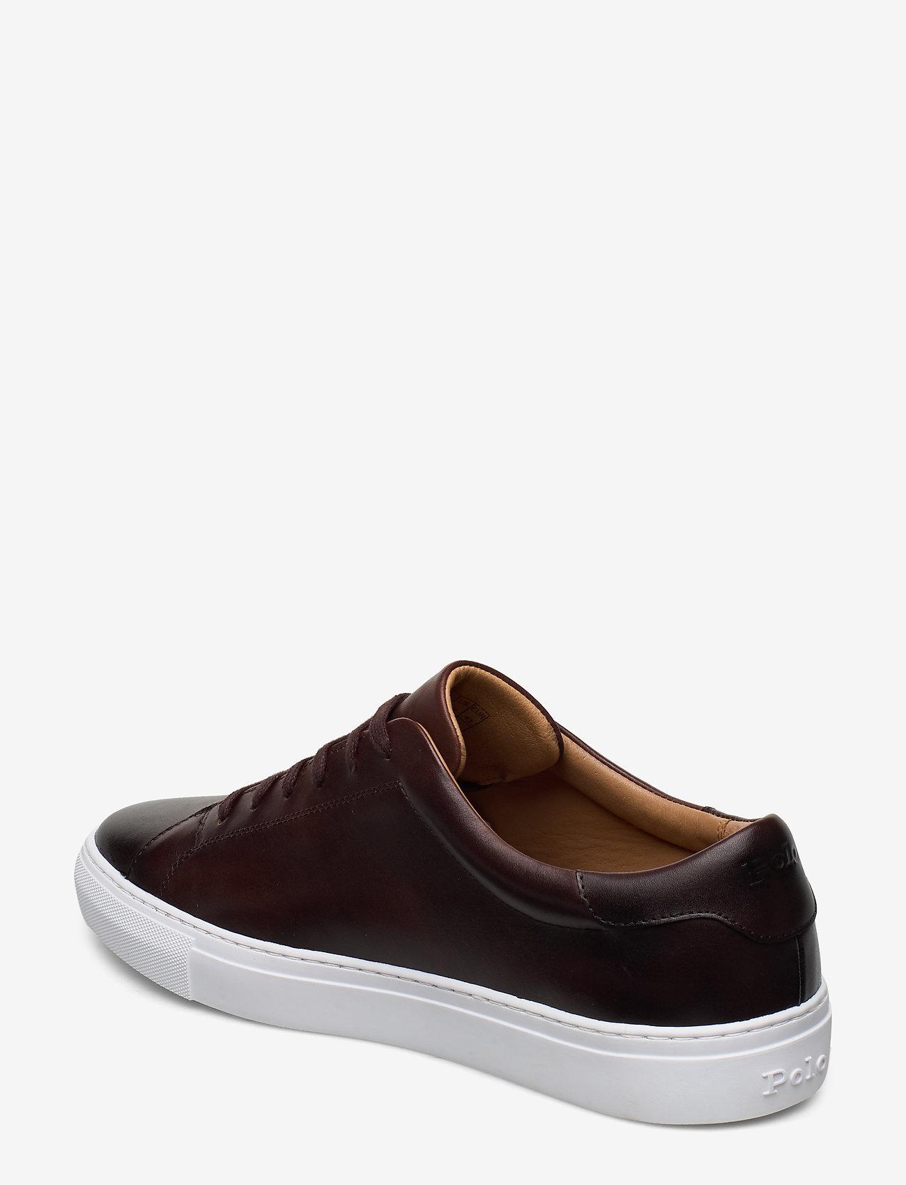 Polo Ralph Lauren - Jermain Leather Sneaker - låga sneakers - polo brown - 2