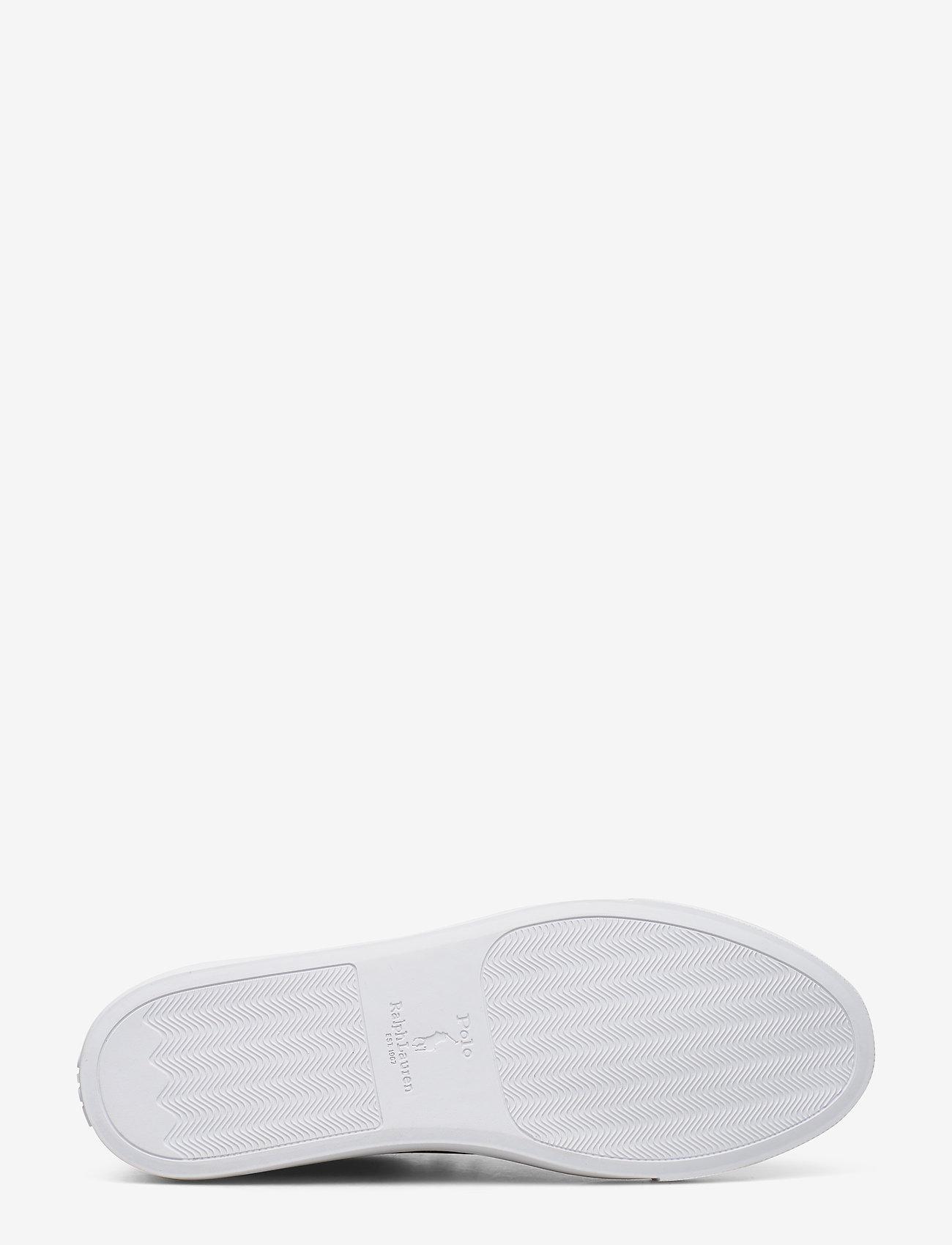 Polo Ralph Lauren - Jermain Leather Sneaker - låga sneakers - polo brown - 4