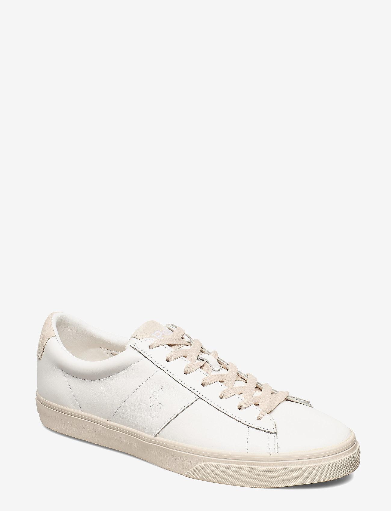 Polo Ralph Lauren - Sayer Calfskin Sneaker - low tops - white - 0