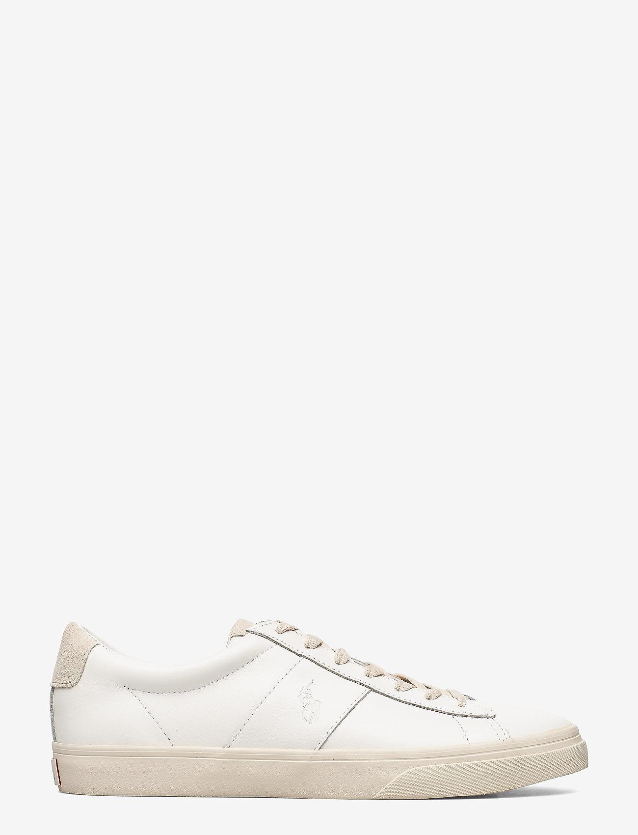 Polo Ralph Lauren - Sayer Calfskin Sneaker - low tops - white - 1
