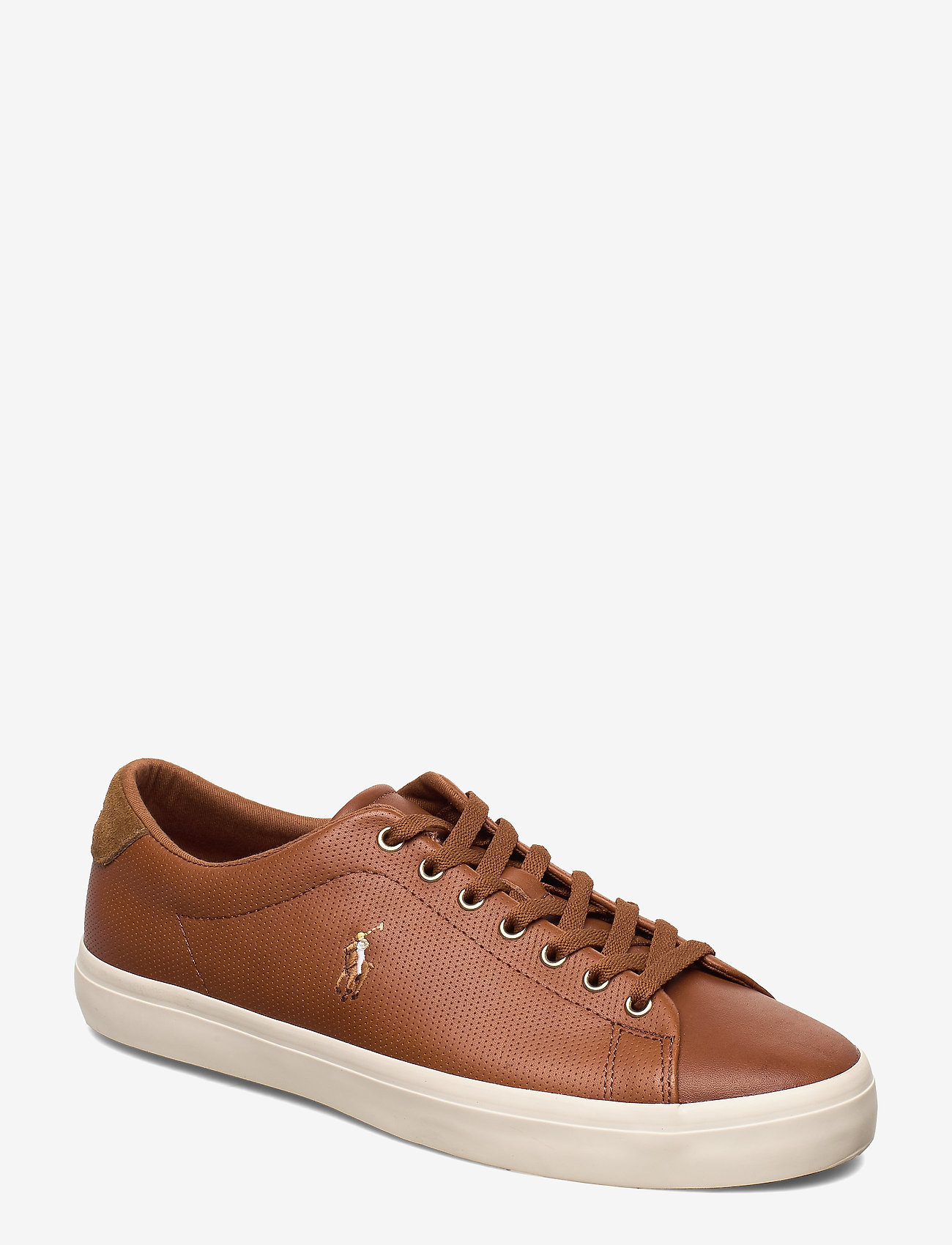 Polo Ralph Lauren - PERF ASHINA CALF-LONGWOOD-SK-VLC - low tops - tan - 0